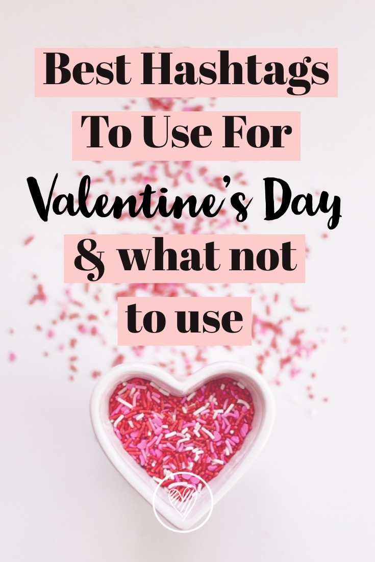 Her Design Diary| Valentine Hashtags