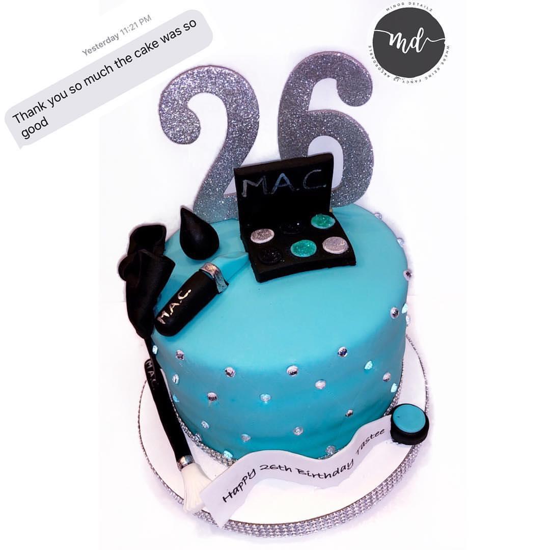 Mac Birthday Cake | Makeup Birthday Cake