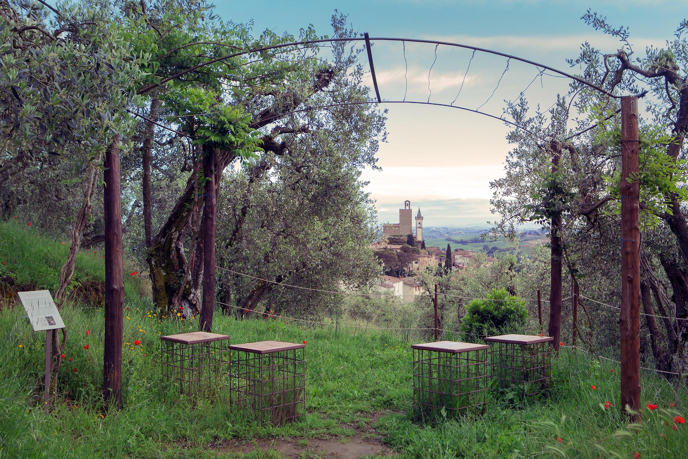 The village of Vinci (FI) where Leonardo was born on April 15, 1452.