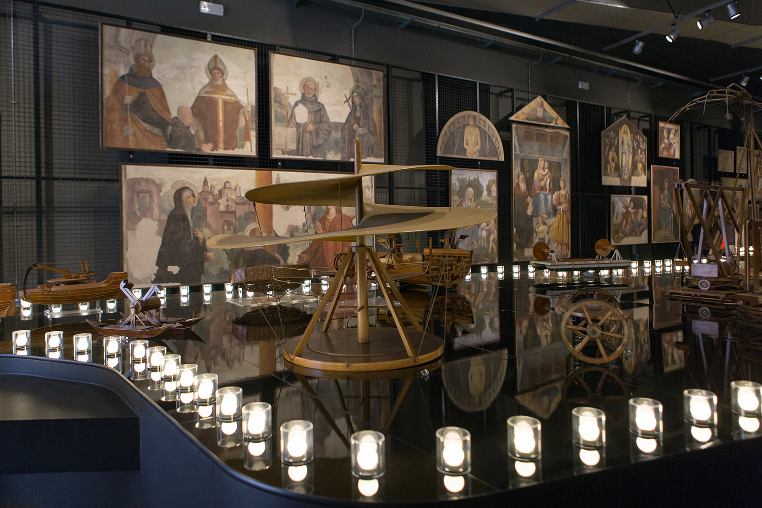 """Leonardo da Vinci Parade"", ""Leonardo da Vinci"" Science and Technology Museum in Milan."