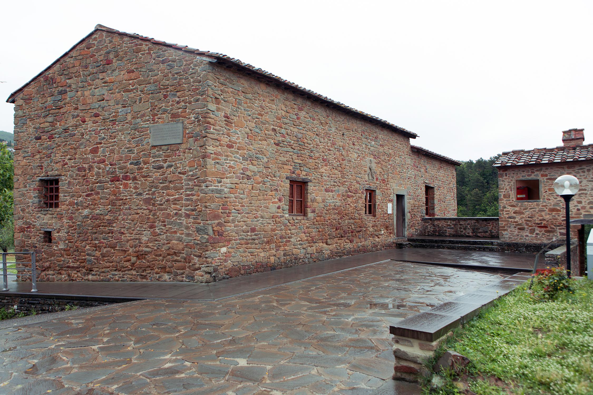 Casa Natale ad Anchiano, frazione di Vinci (FI), oggi adibita a museo.