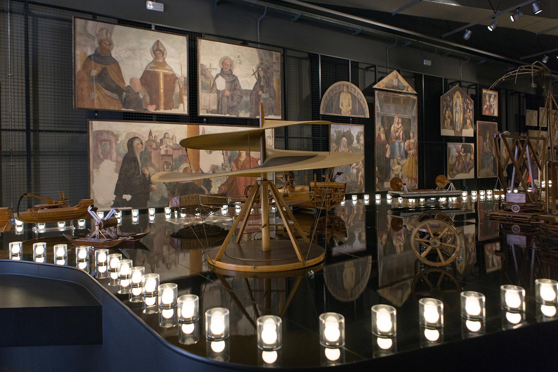 """""""Leonardo da Vinci Parade"""", nel Museo Nazionale della Scienza e della Tecnologia """"Leonardo da Vinci"""" di Milano."""
