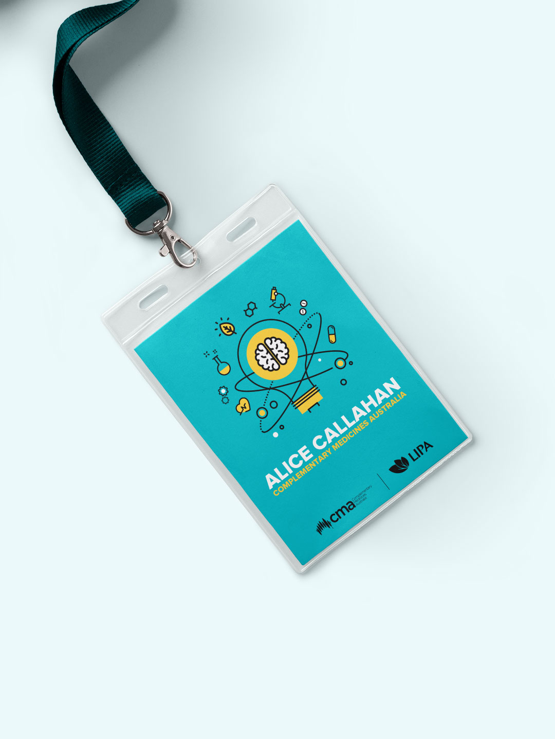 Event branding design - CMA Name tag