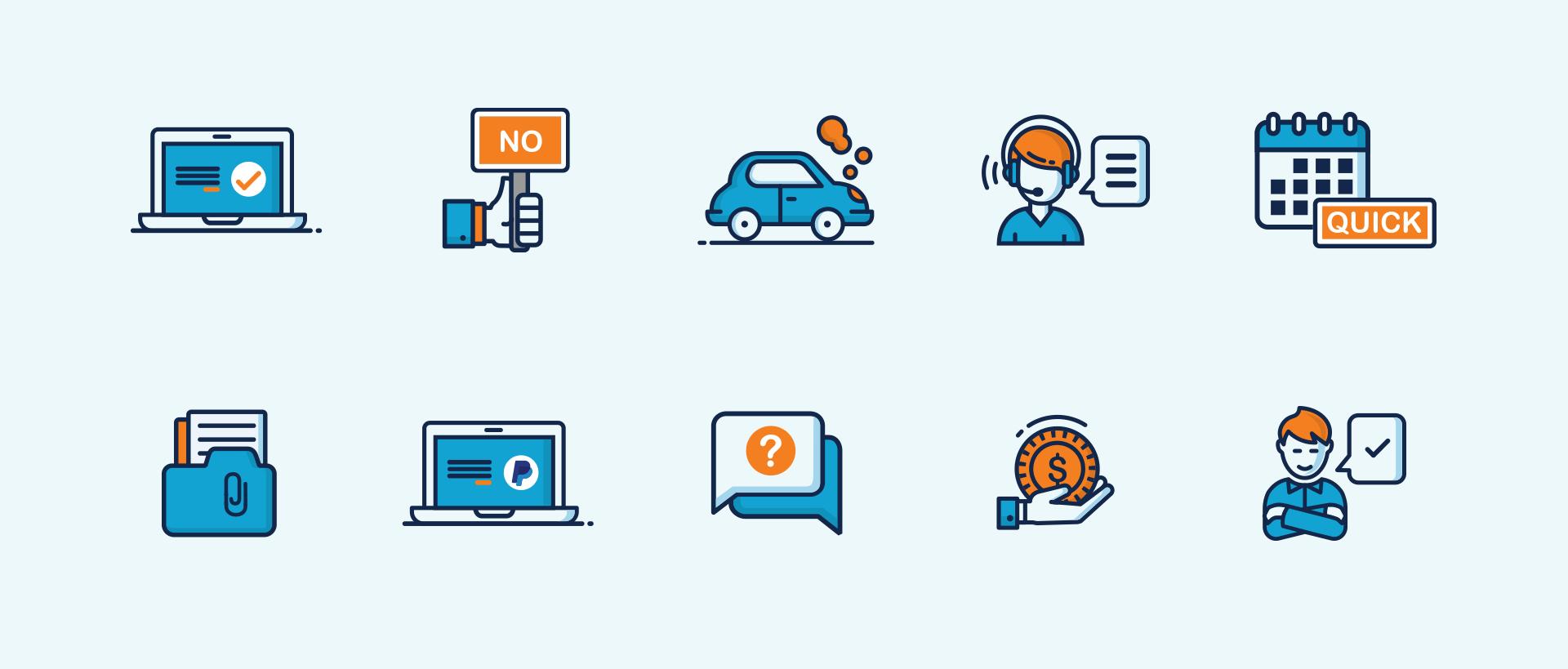 Icon graphic design Sydney