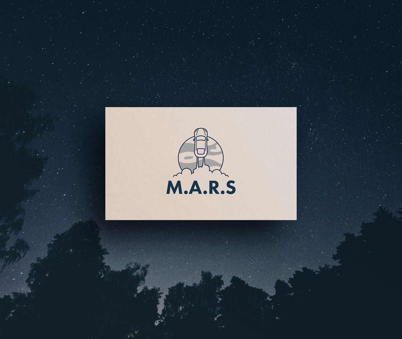M.A.R.S Business card design.