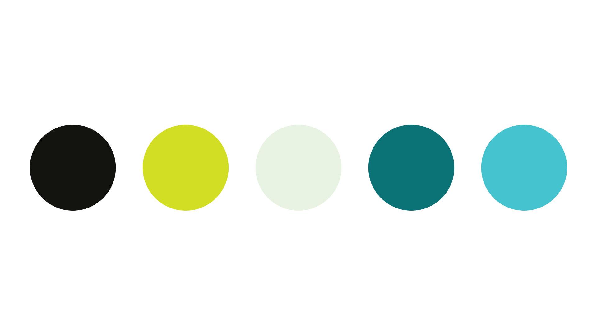Vivere colour palette