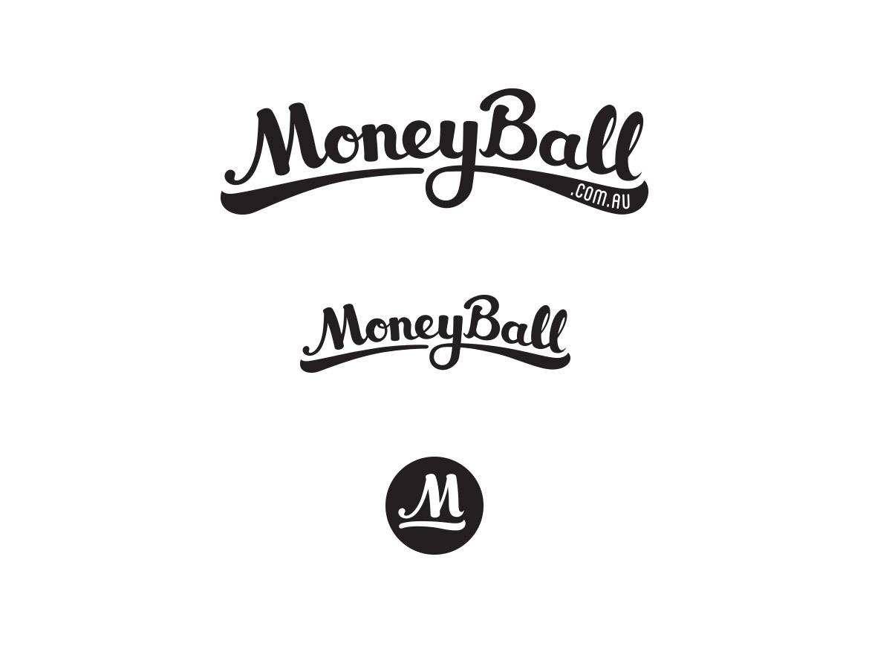 Moneyball responsive logo design
