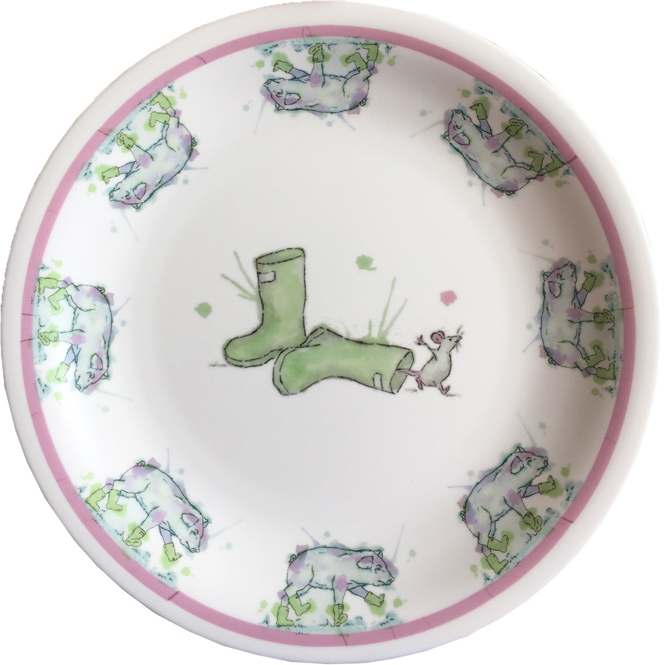 Mousey Plate - £8.00