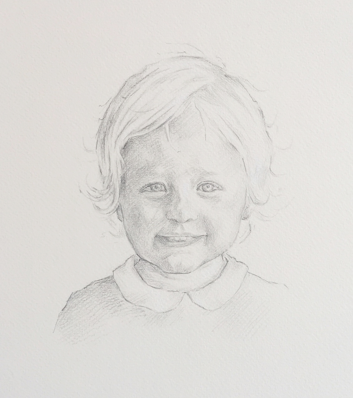 'Willow' pencil and chalk on paper