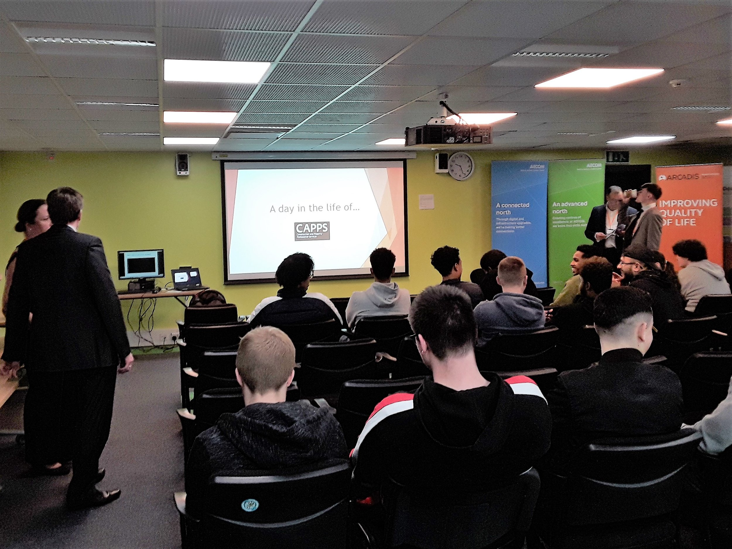 The Manchester College: A day in the life of... - Thank you to the CAPPS consultants who presented at the day in the life of event today at Manchester College.Hilary Orr, Manchester College (Employability & Partnership Co-ordinator)