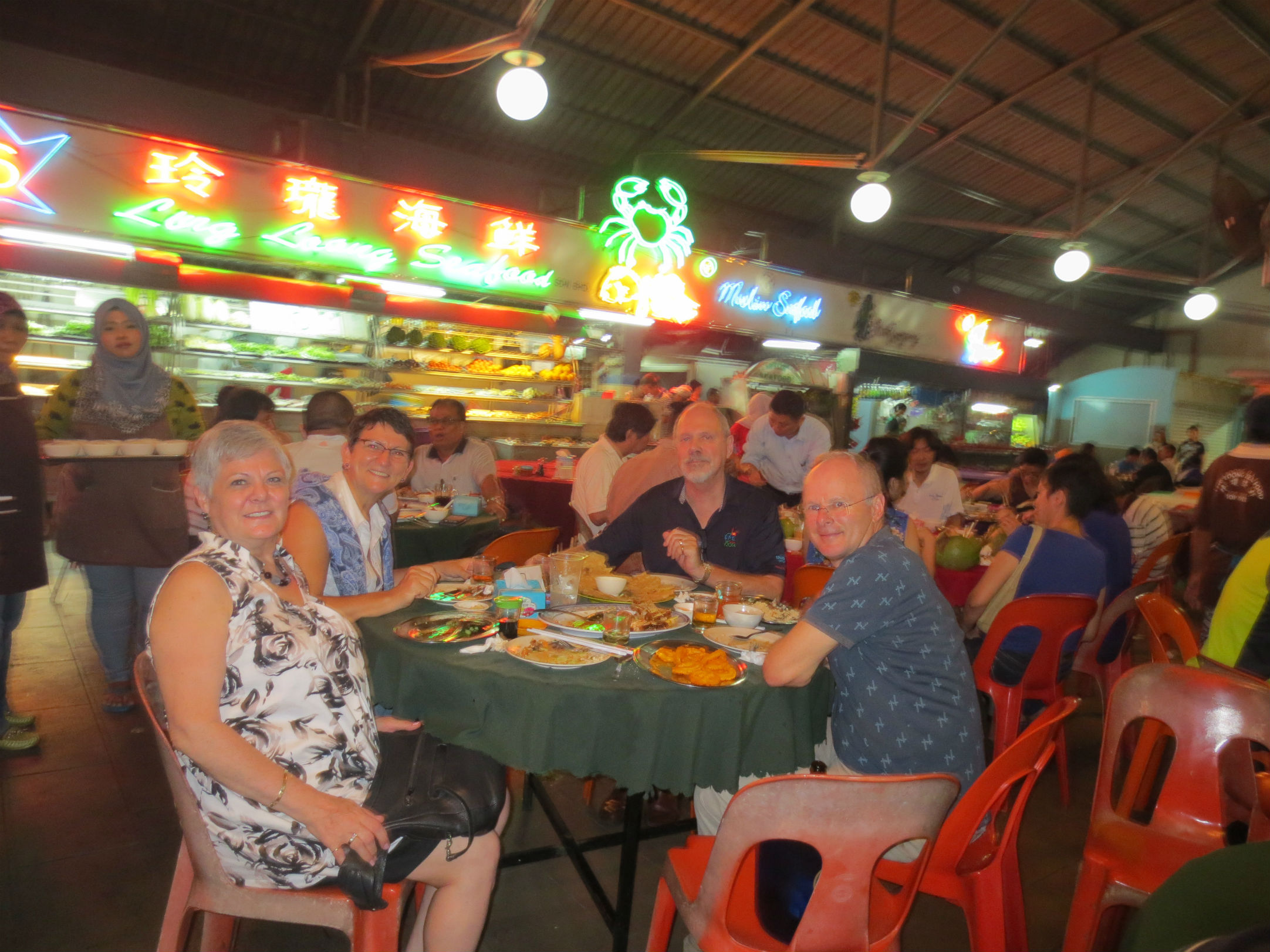 Dinner at Chinese-Malay eatery