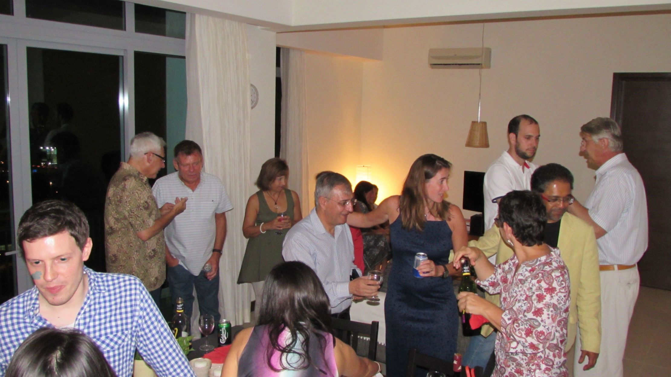 Housewarming Party in our apartment in Kuala Lumpur
