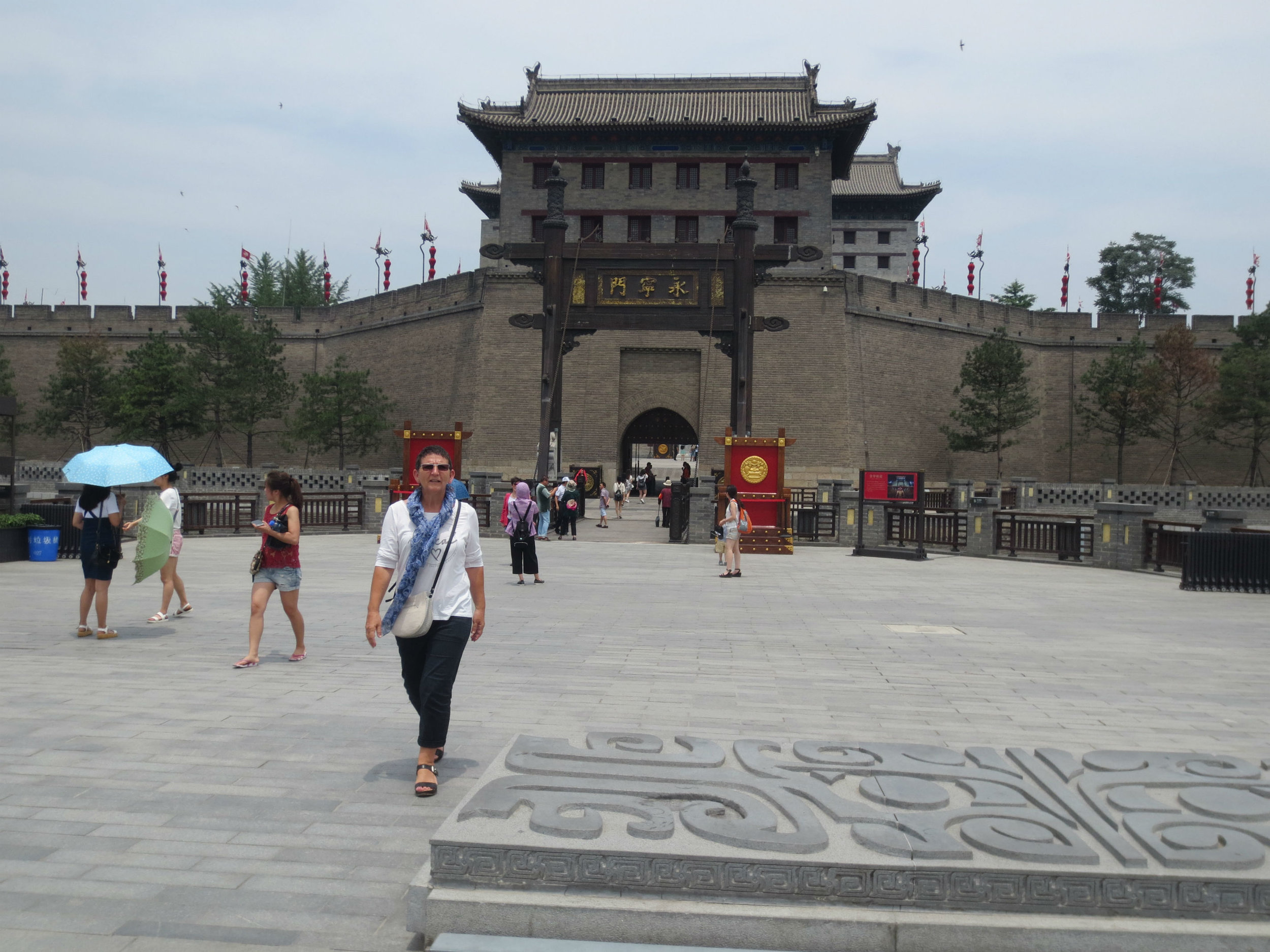 15th century city gate in Xi'an