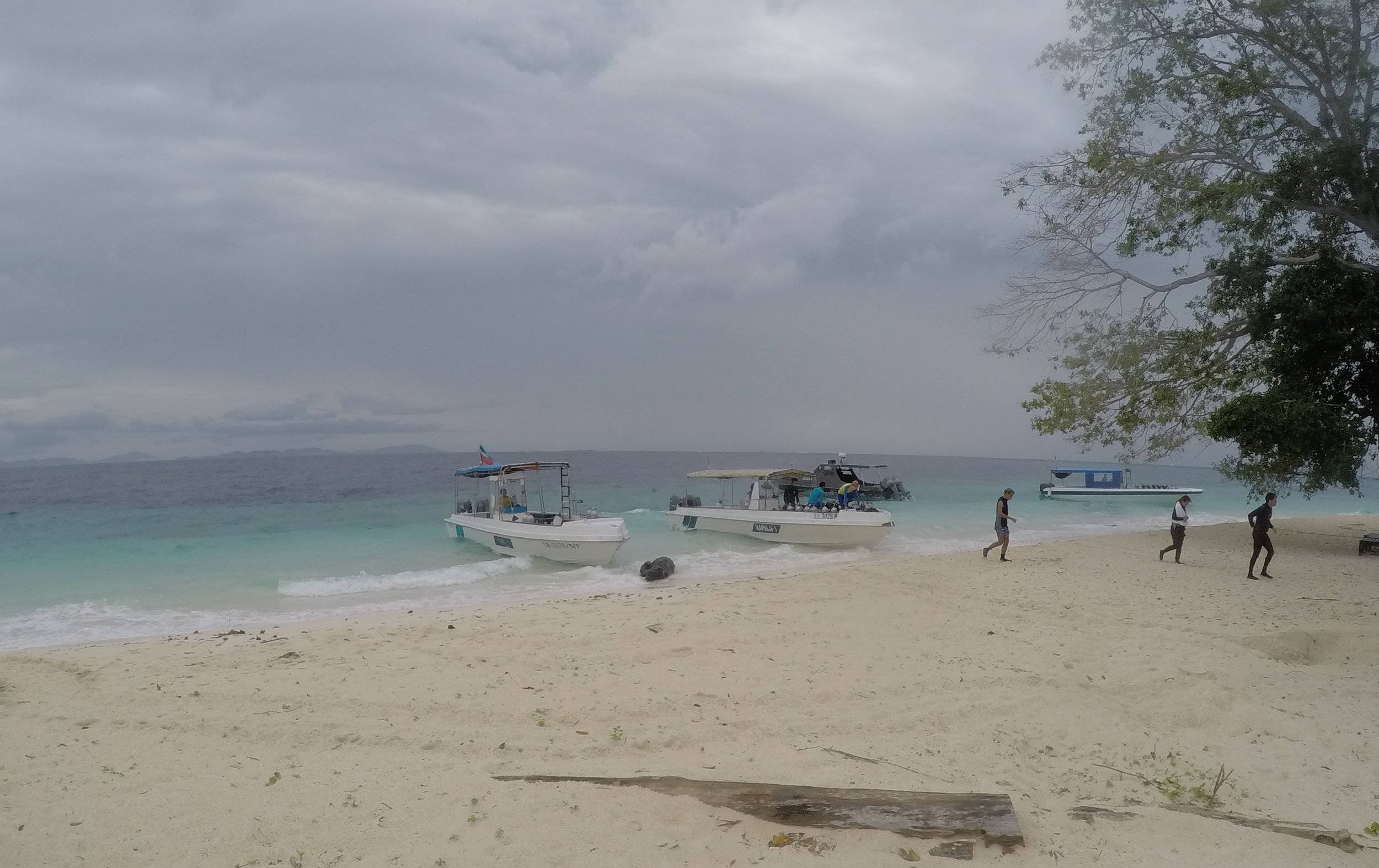 Pulau Sipadan beach