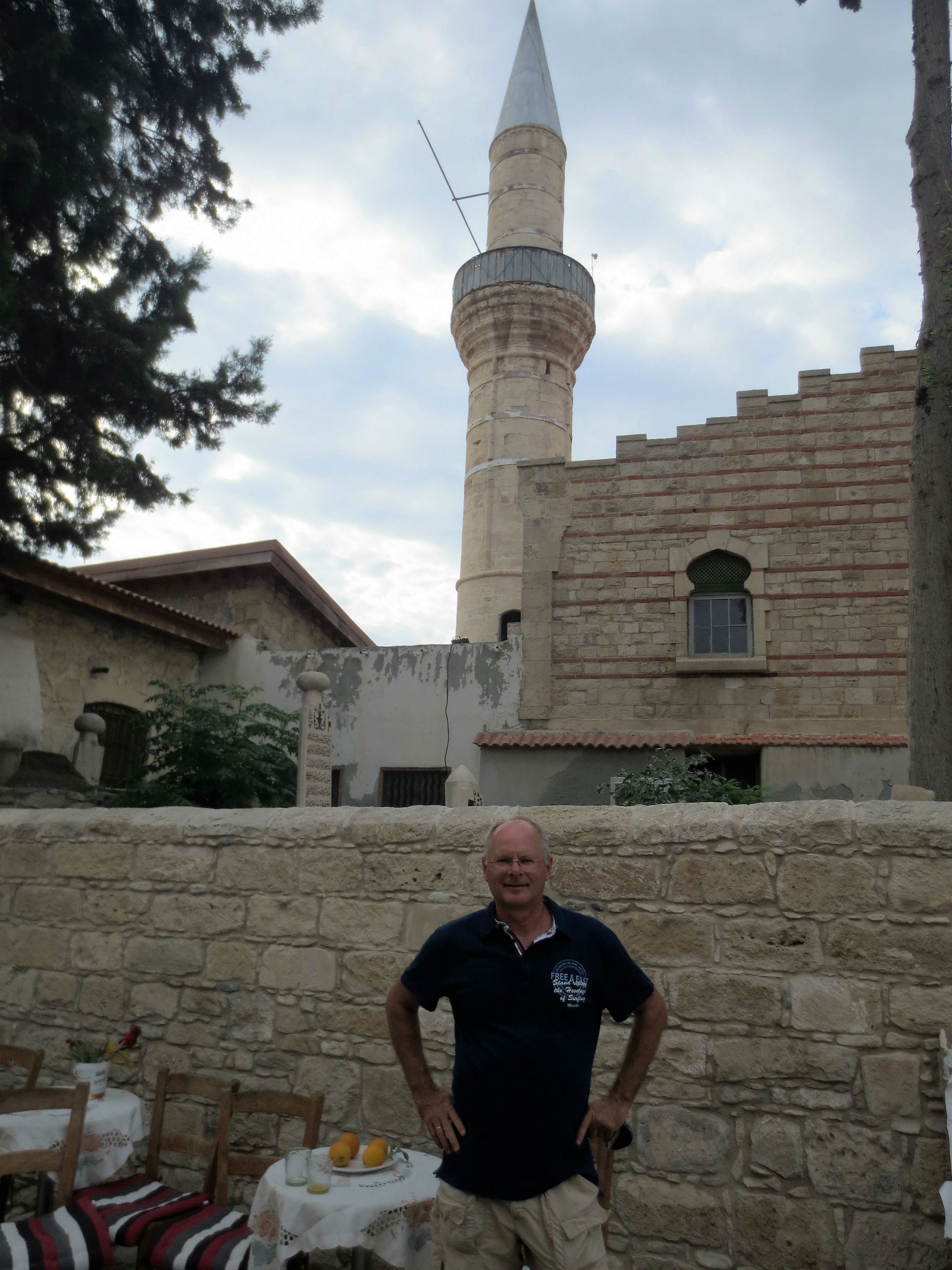 Kepir mosque in the old centre of Limassol. Still actively used by the small muslim community