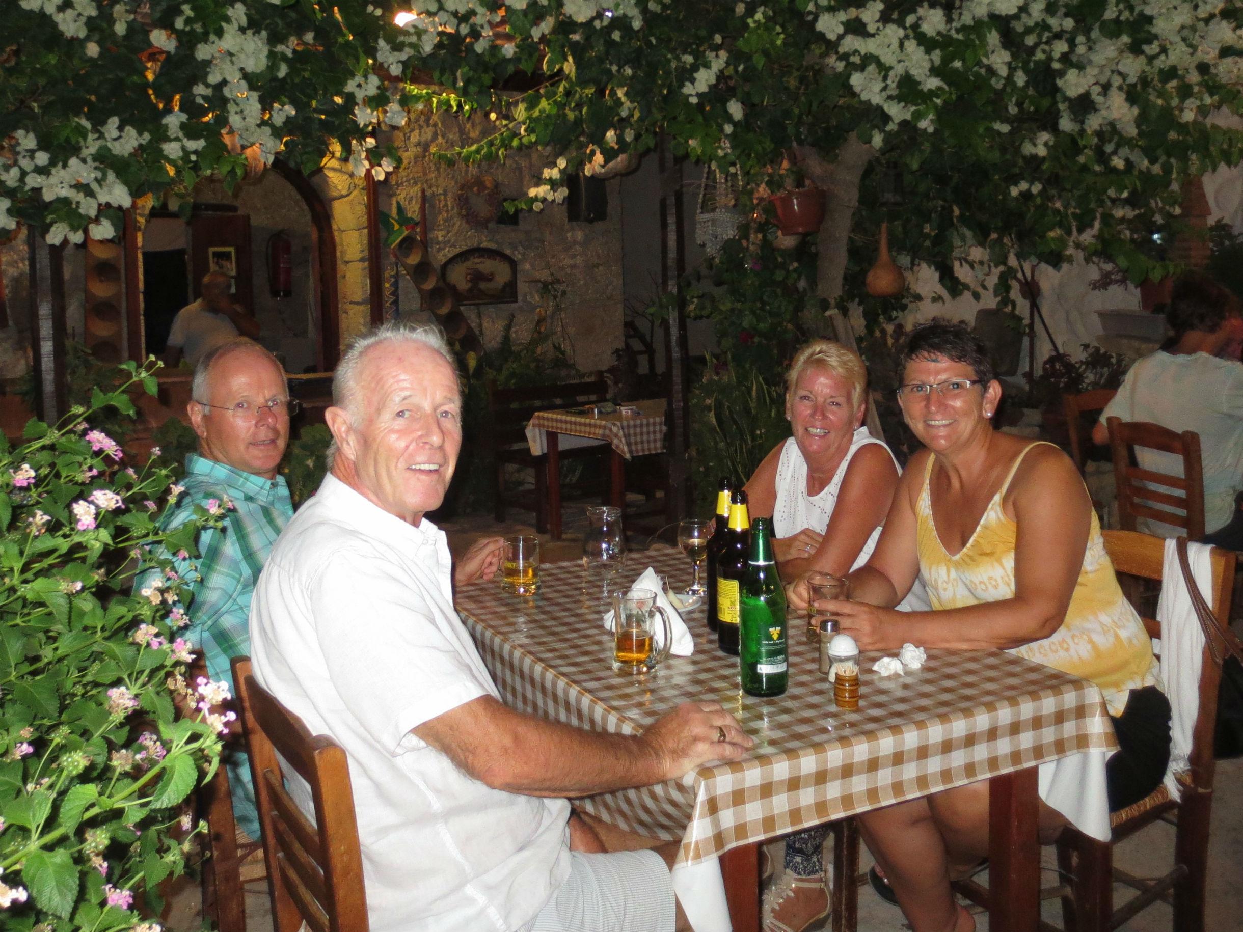 Stamna family tavern in Tala. Yamas !