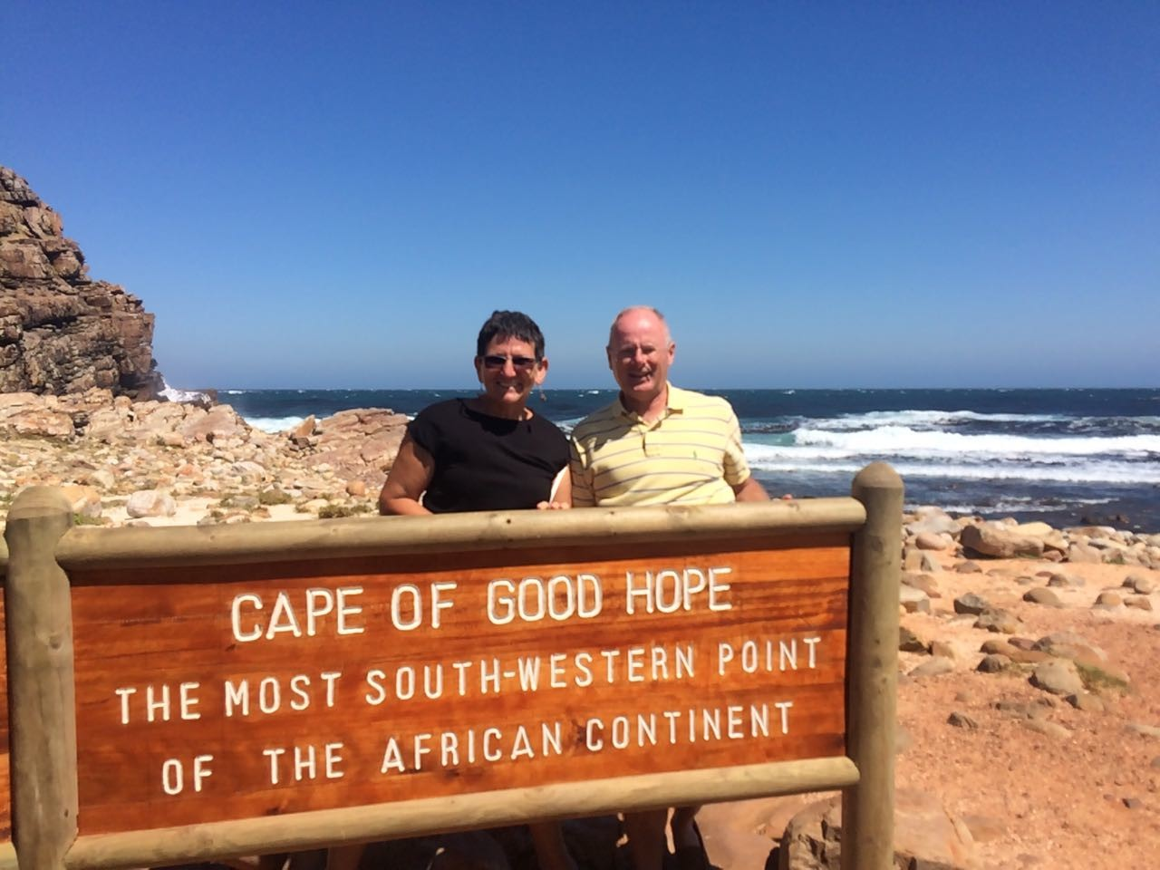 The edge of Africa