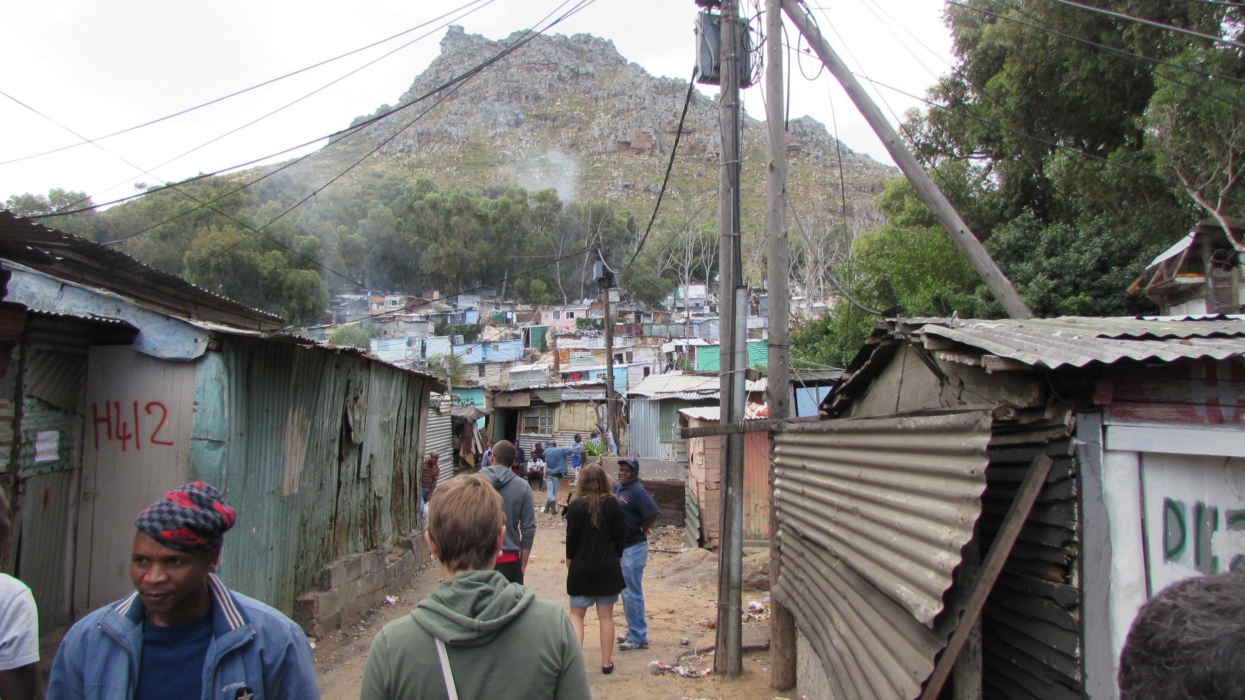 Imizamo Tethu township in Hout Bay