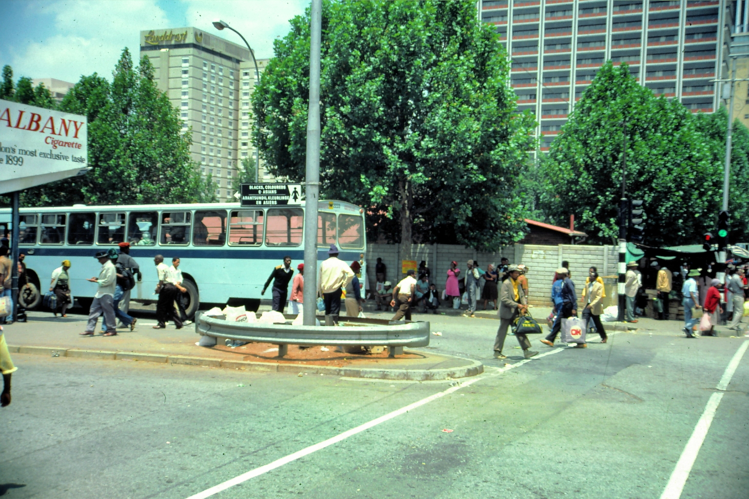 1982 - Putco busses in Johannesburg transported 'non-white' people between the townships and the city