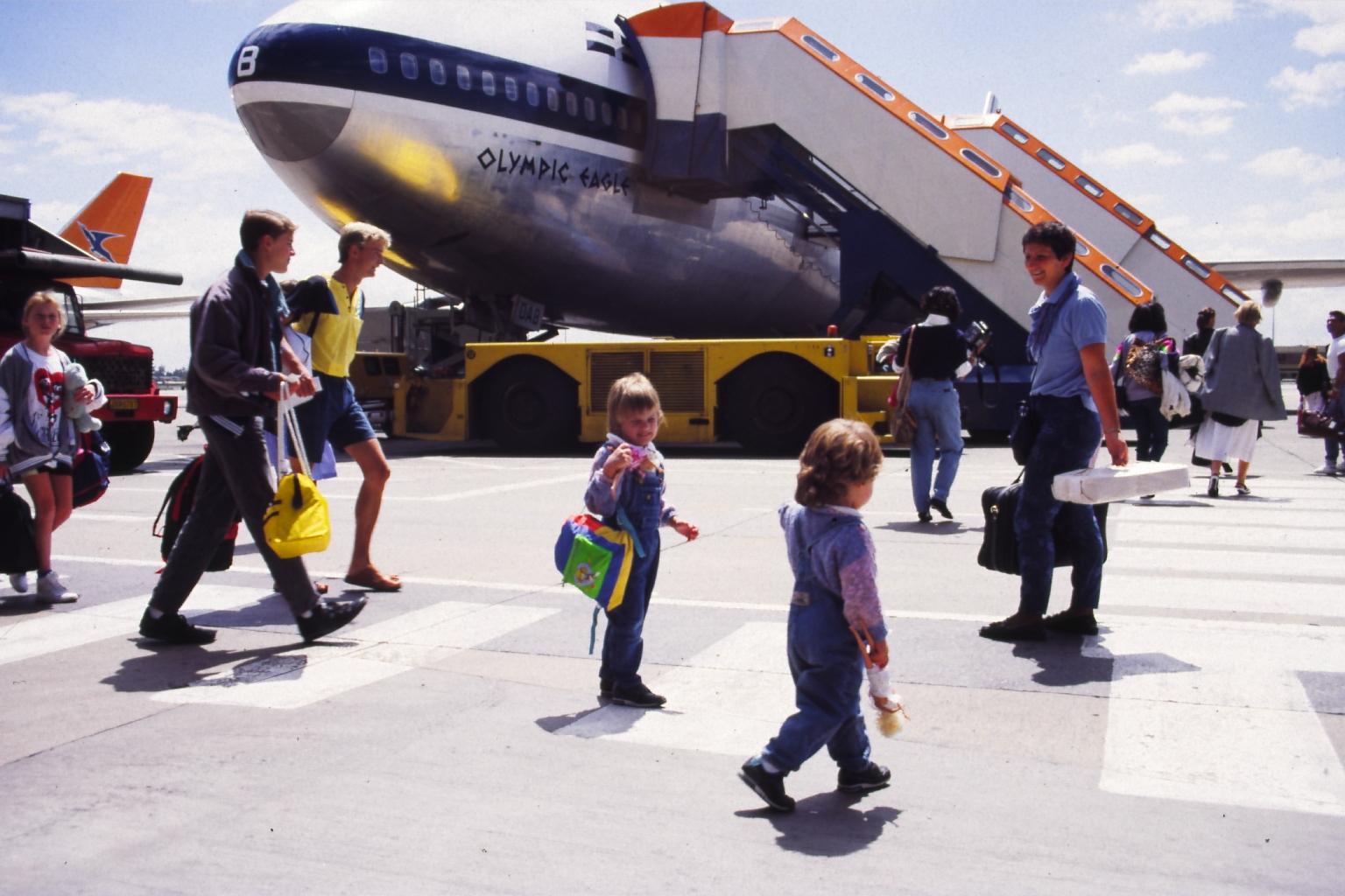 1989 - Another Intercontinental flight
