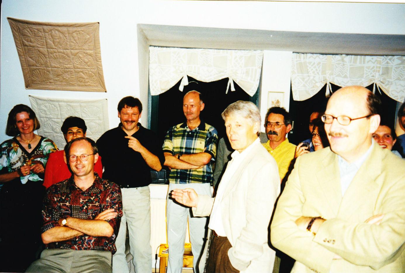 1999  Leipzig good-bye party