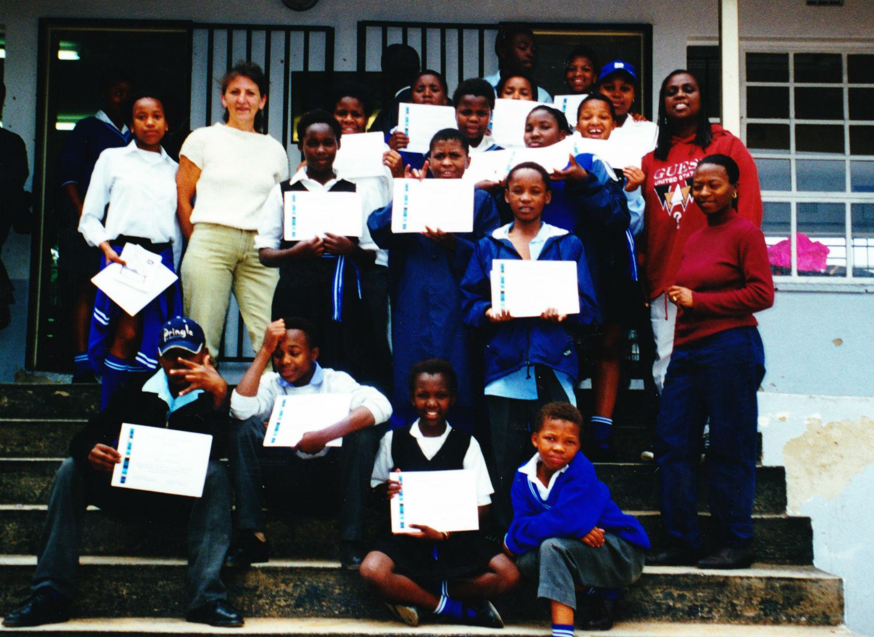 2000  Riversands school, Johannesburg