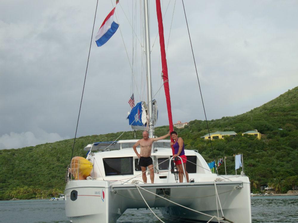 2010  Sailing in the British Virgin Islands