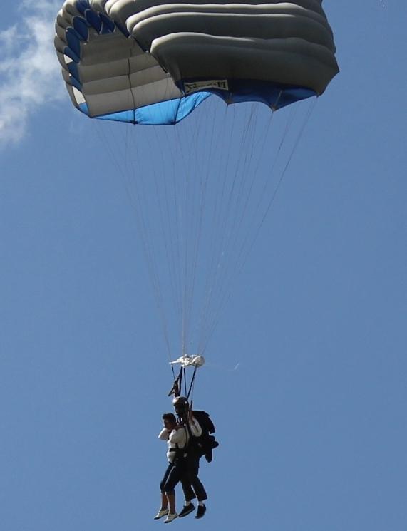 2011  Parachute jumping in Boston