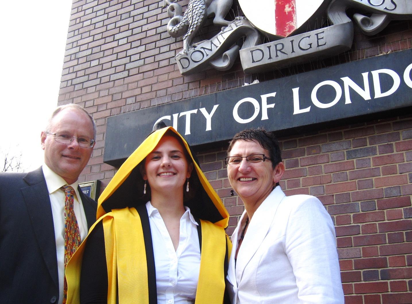 2012  Graduation Kings College, London