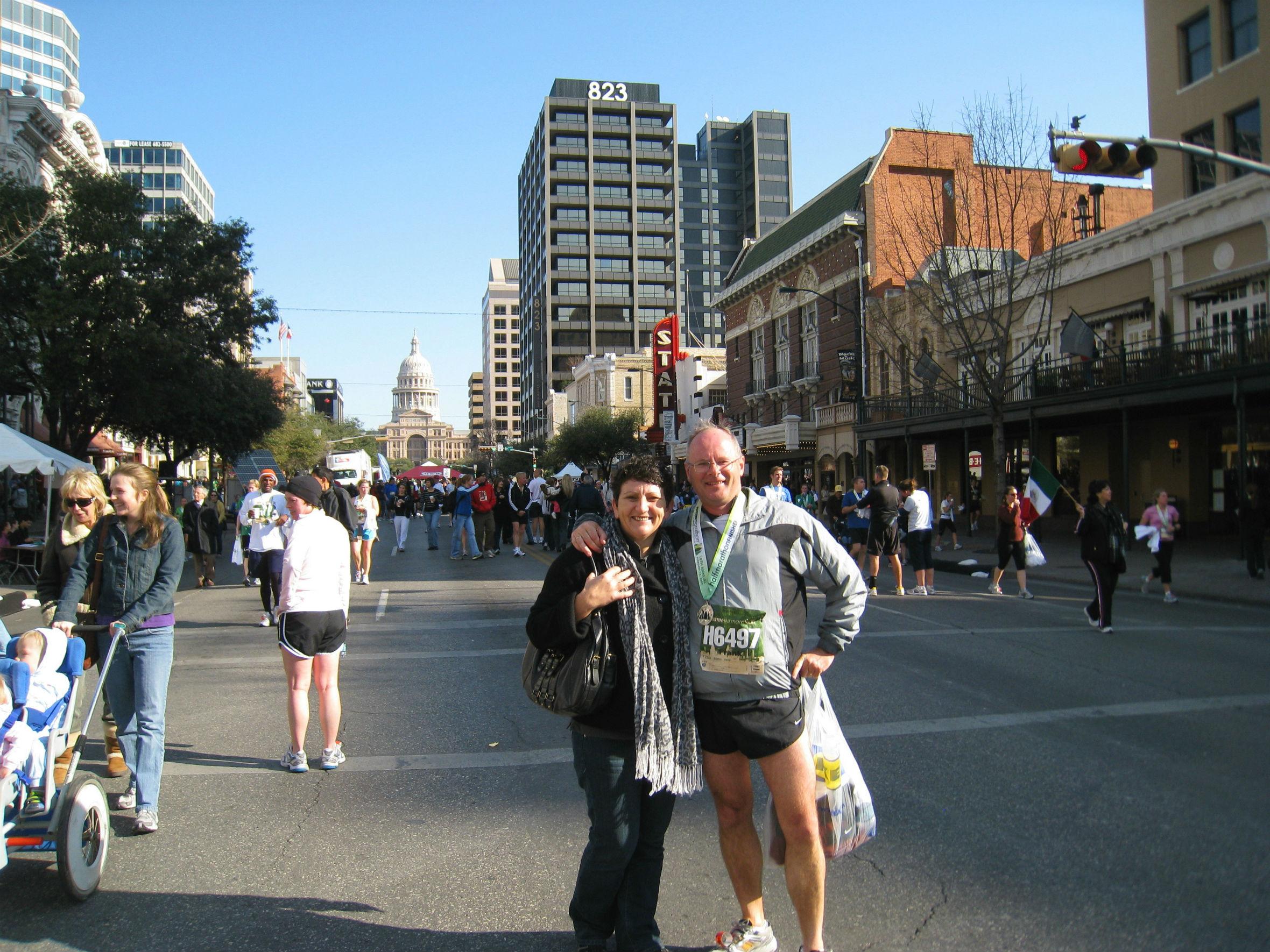2006 Austin, Texas half marathon