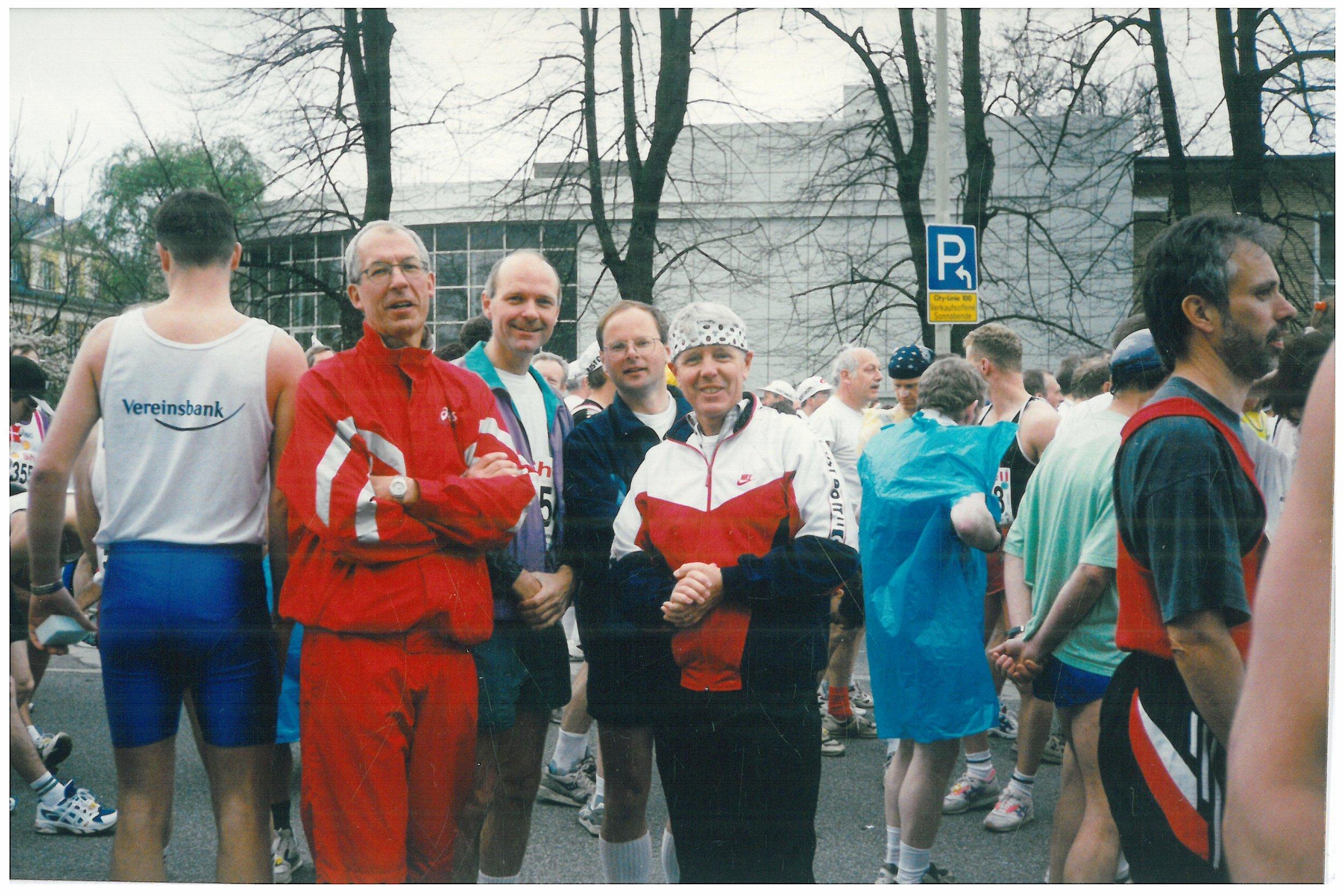 1998 Berlin half marathon before the start