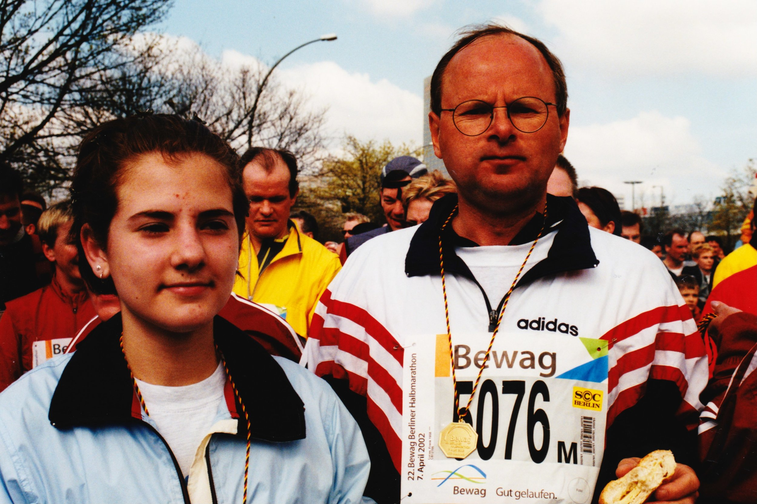 2003 Winnie and Frank finished in Berlin