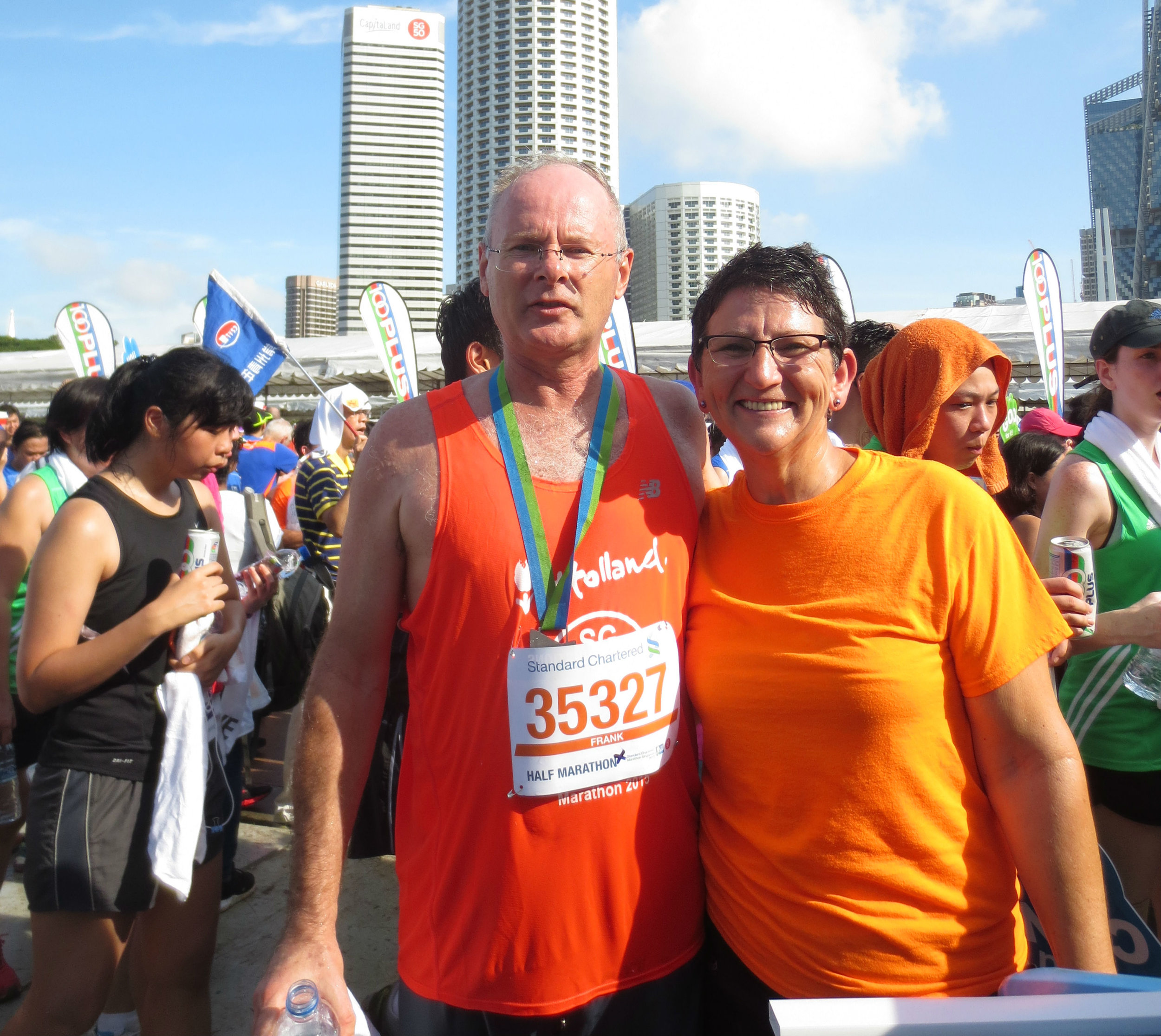 2015 Singapore half marathon