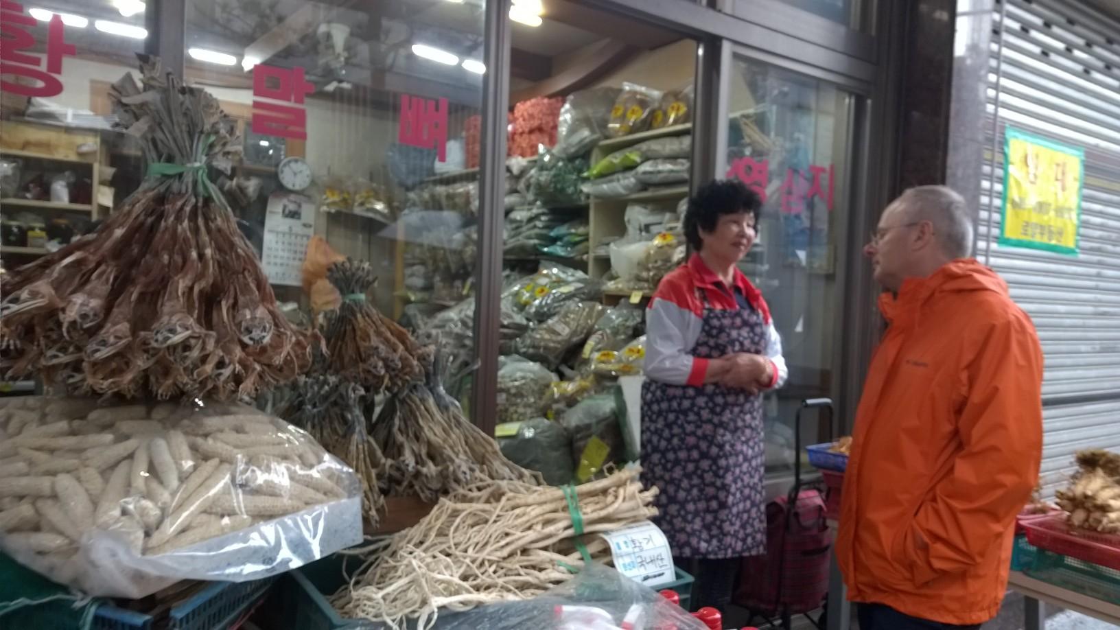 Market in Busan