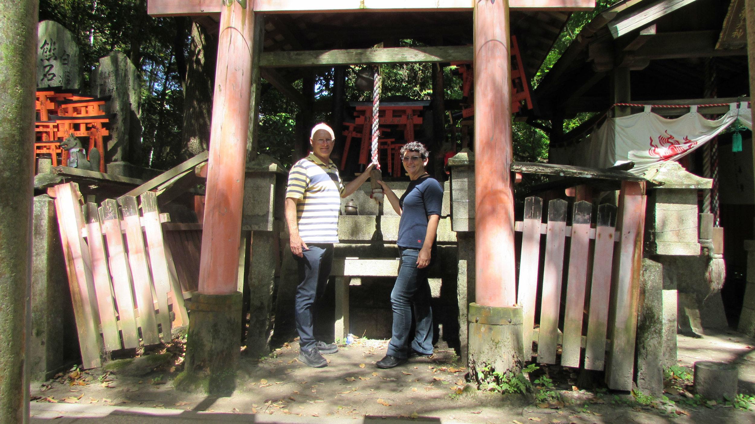 Fushimishi inari shrine in Kyoto