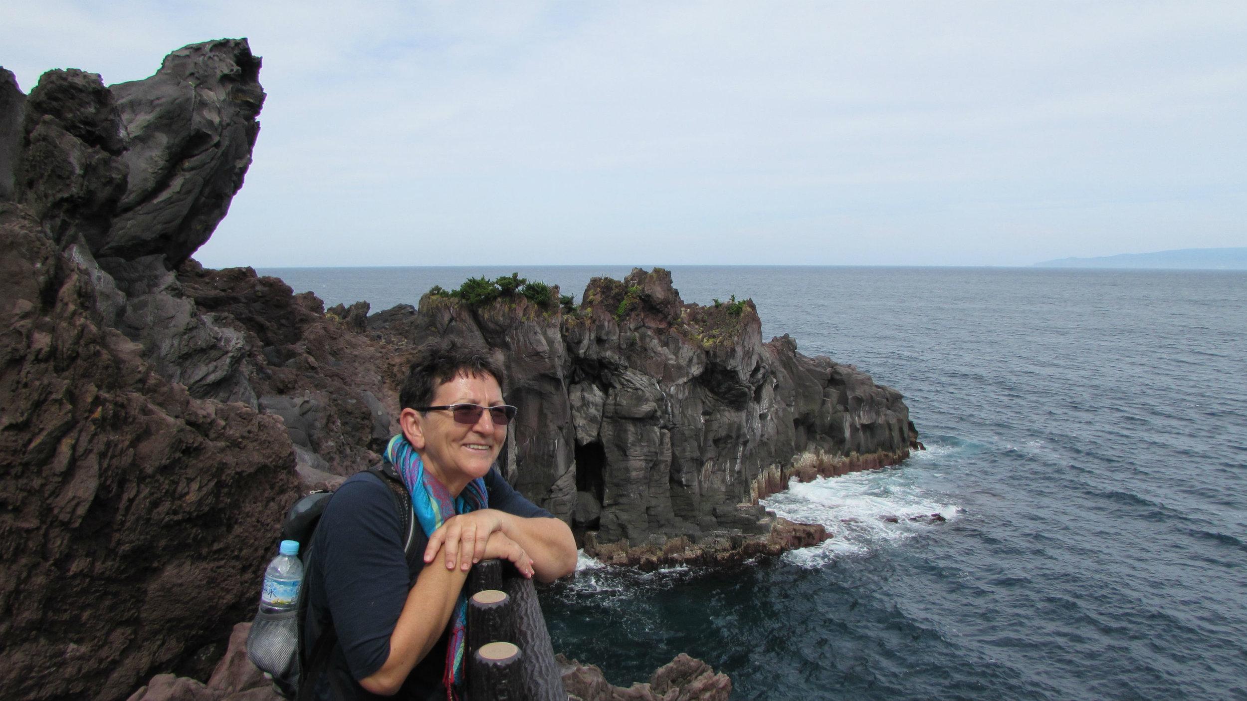 The volcanic Jogasaki coast