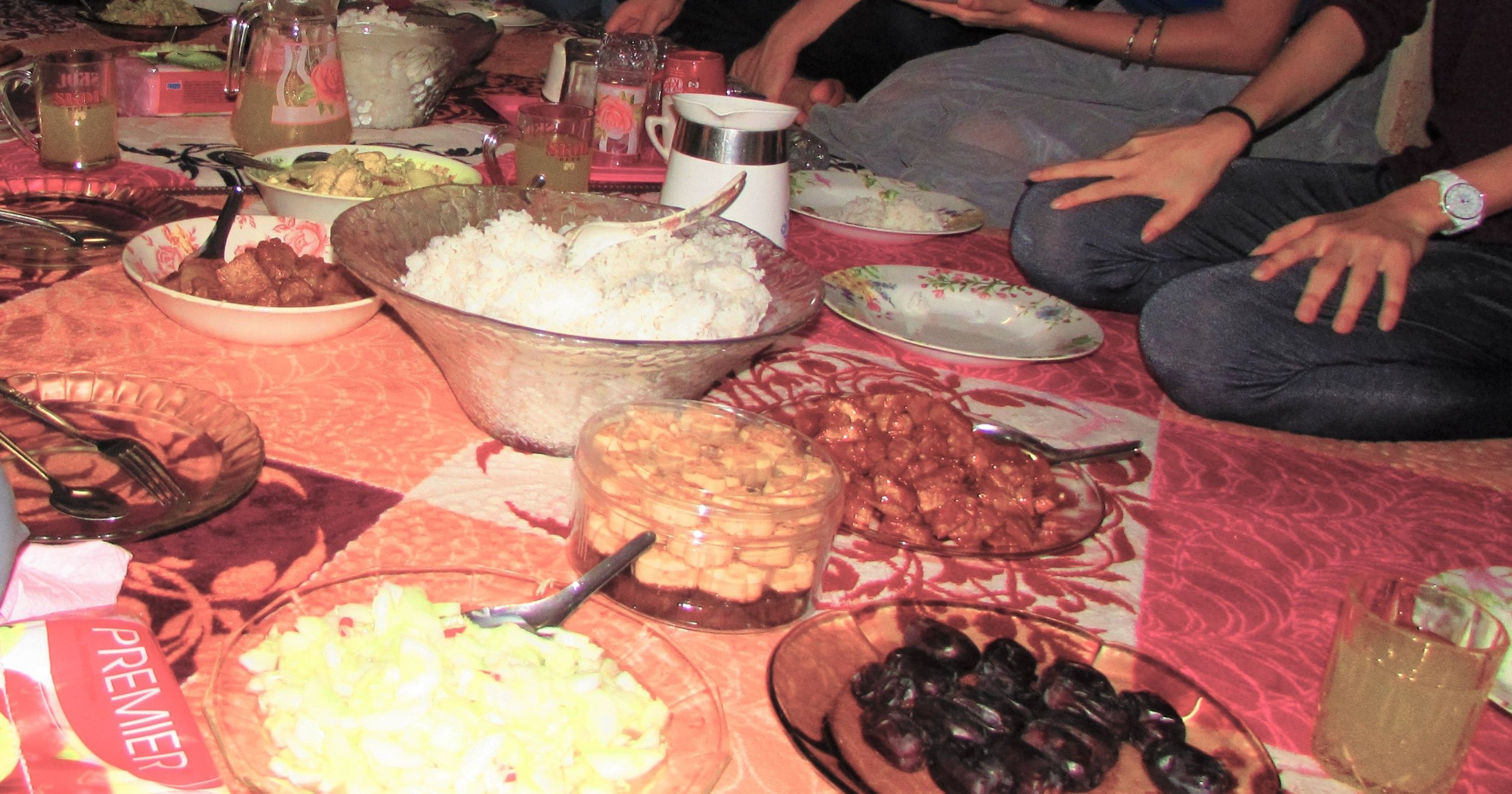 Dishes from Myanmar