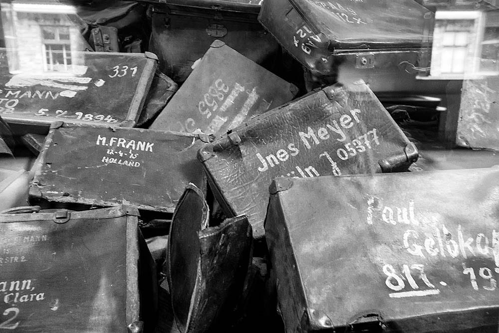 Suitcases taken from the victims