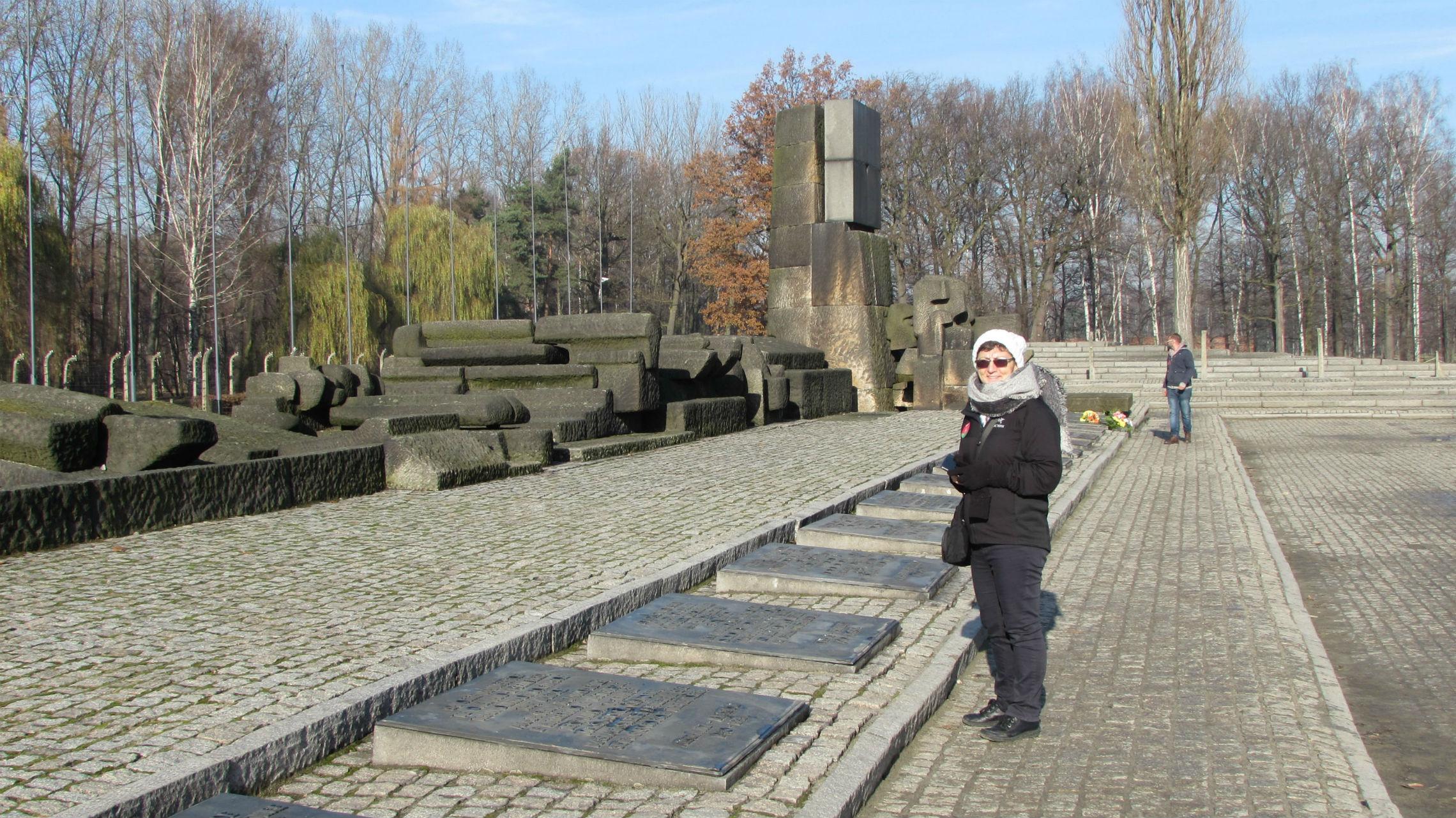 The International Monument of Auschwitz Birkenau