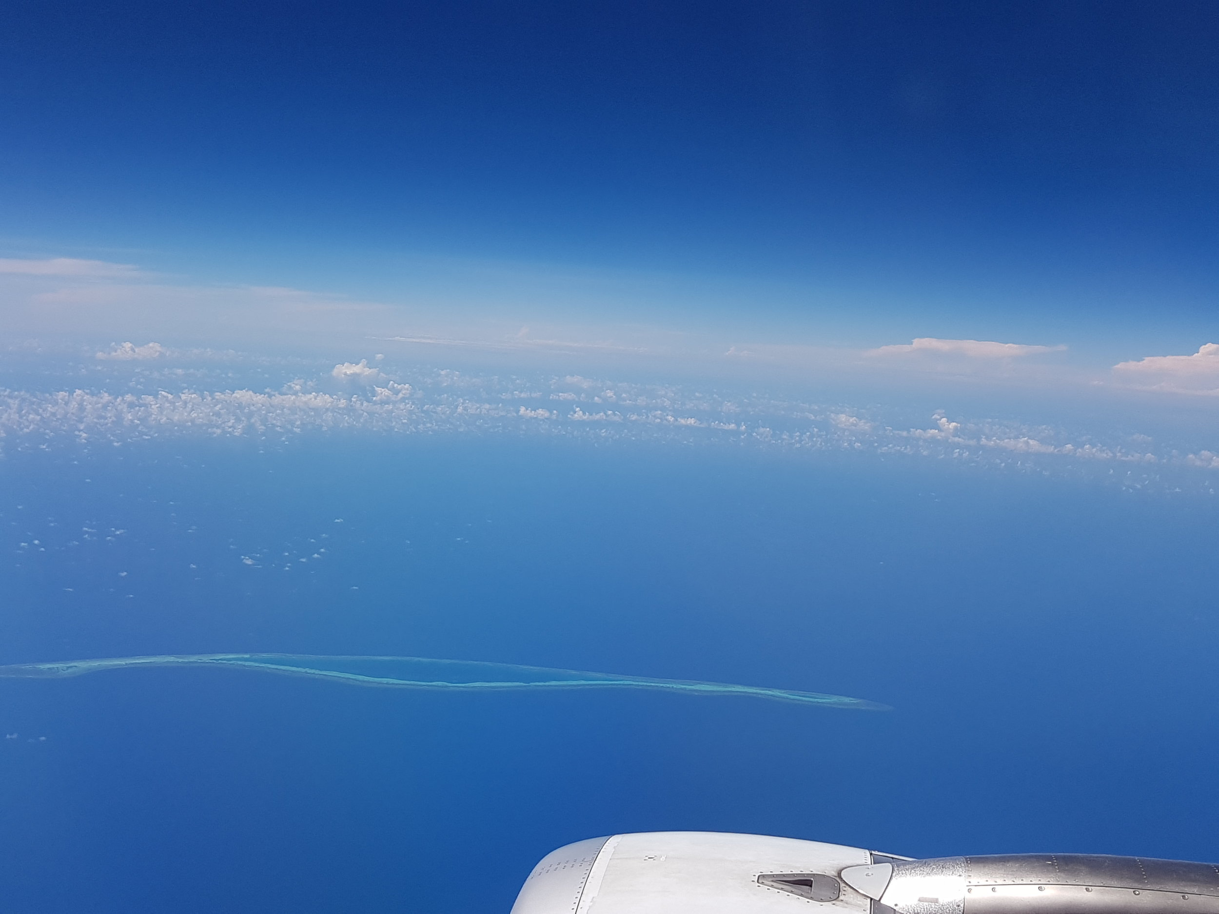 One of the Spratly Islands in the South China Sea