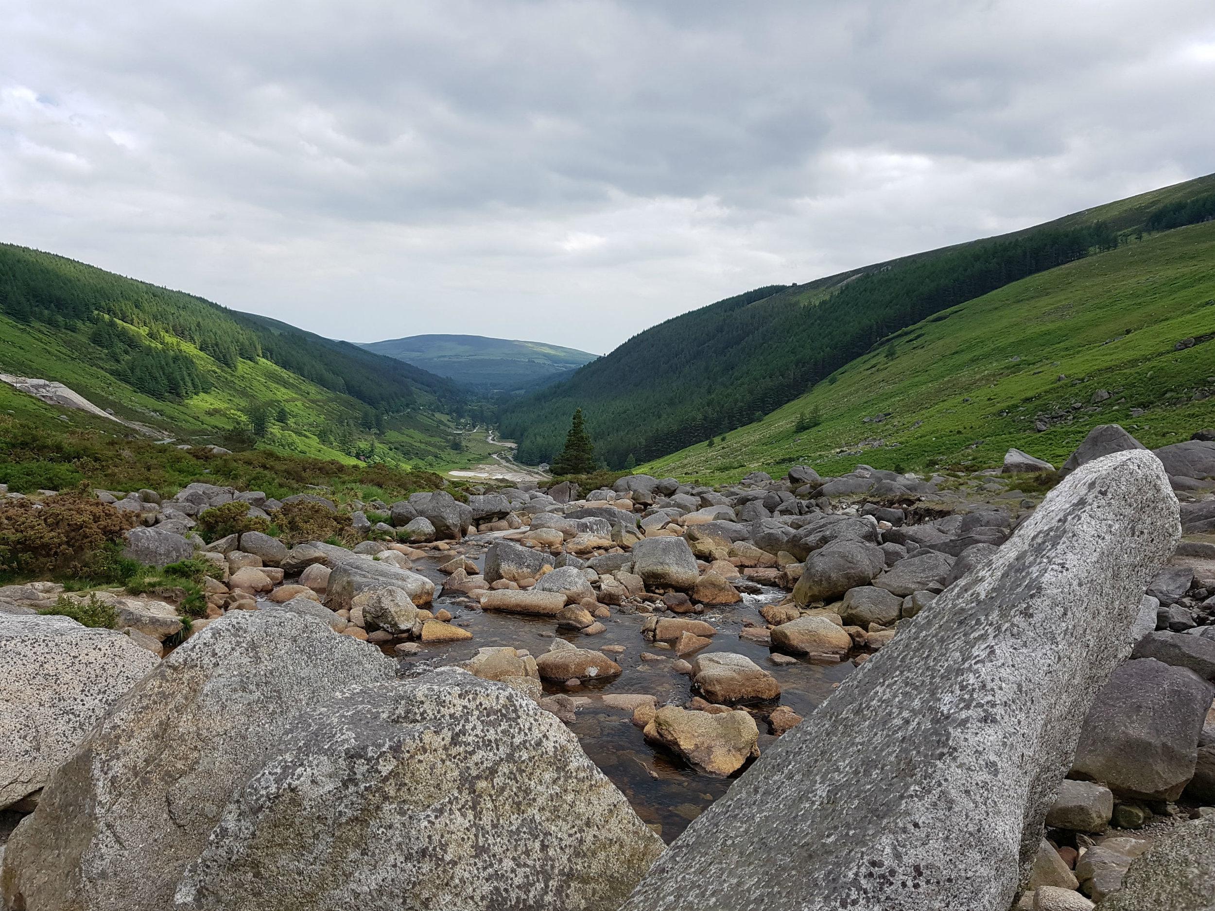 Valley at Glendalough
