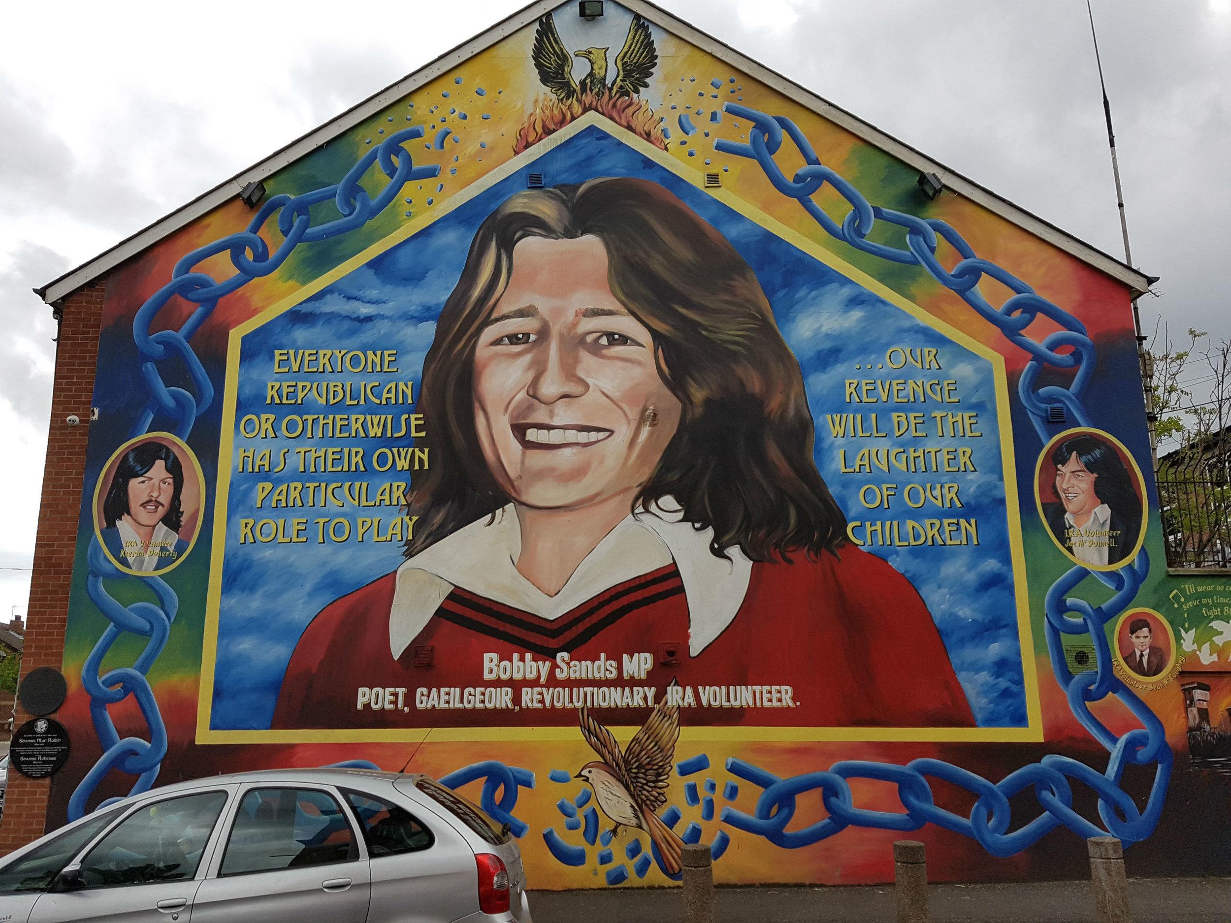 Bobby Sands Mural