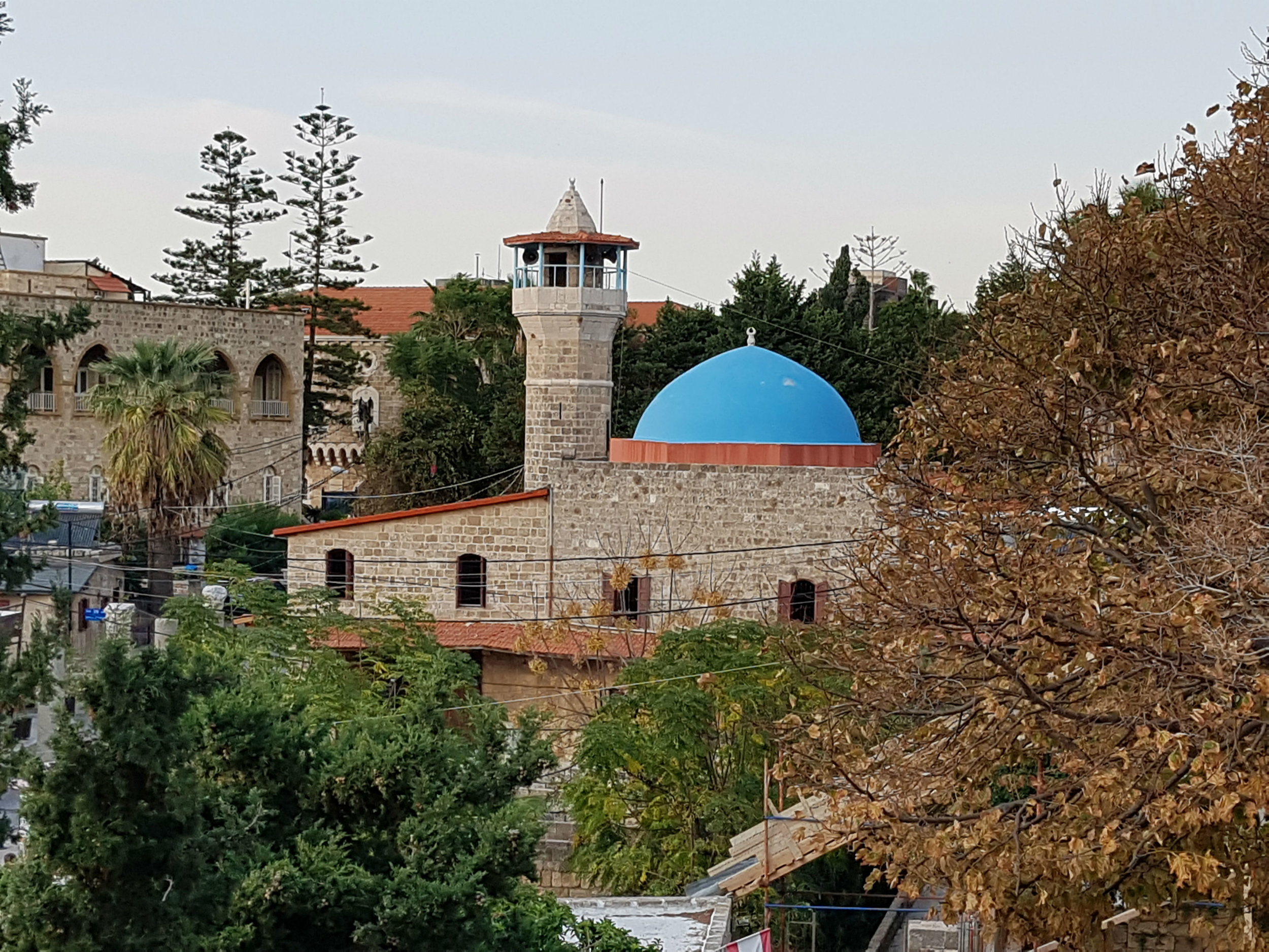 The old mosque in Byblos