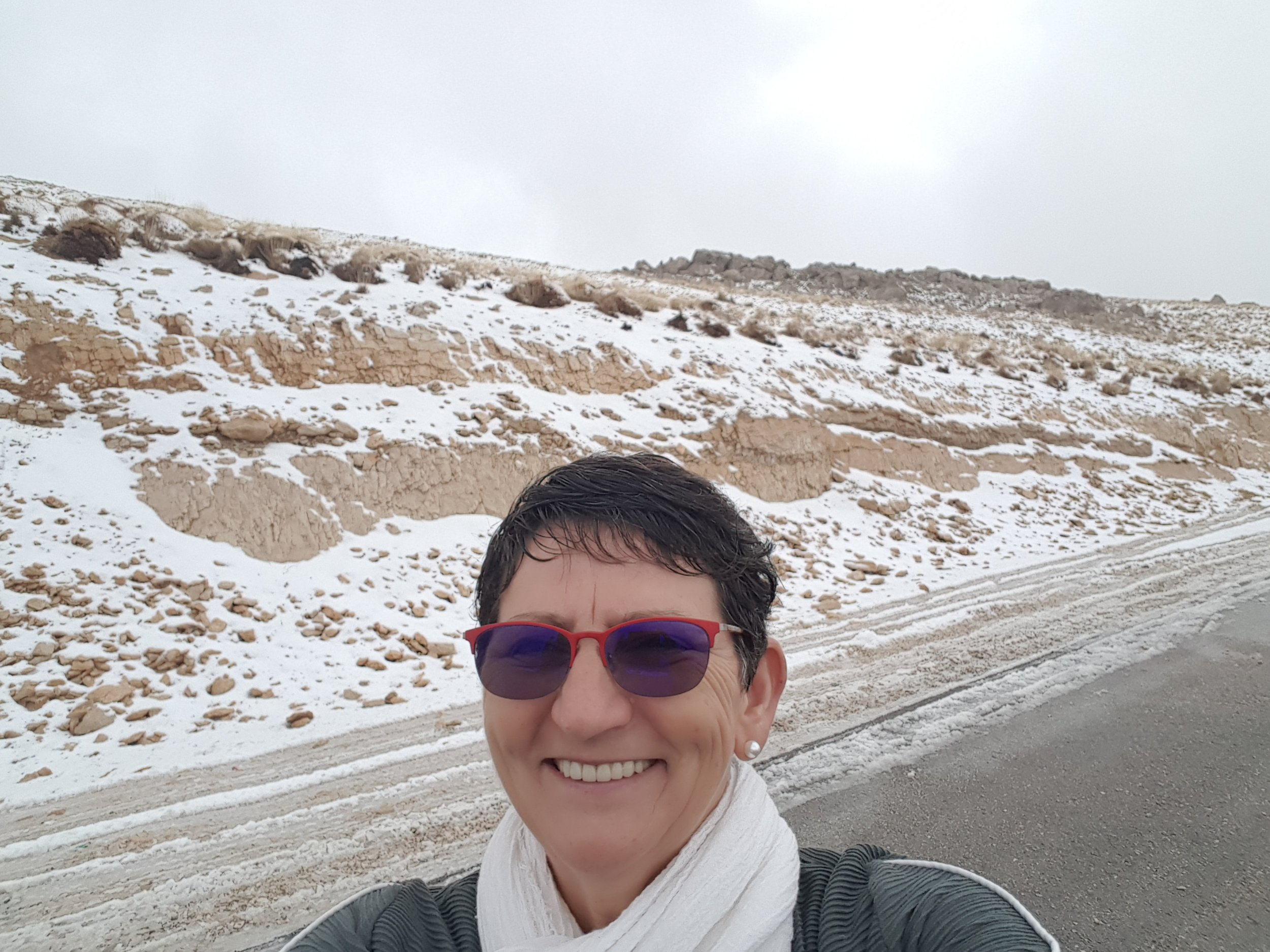 The first snow on an elevation of 1500 meters