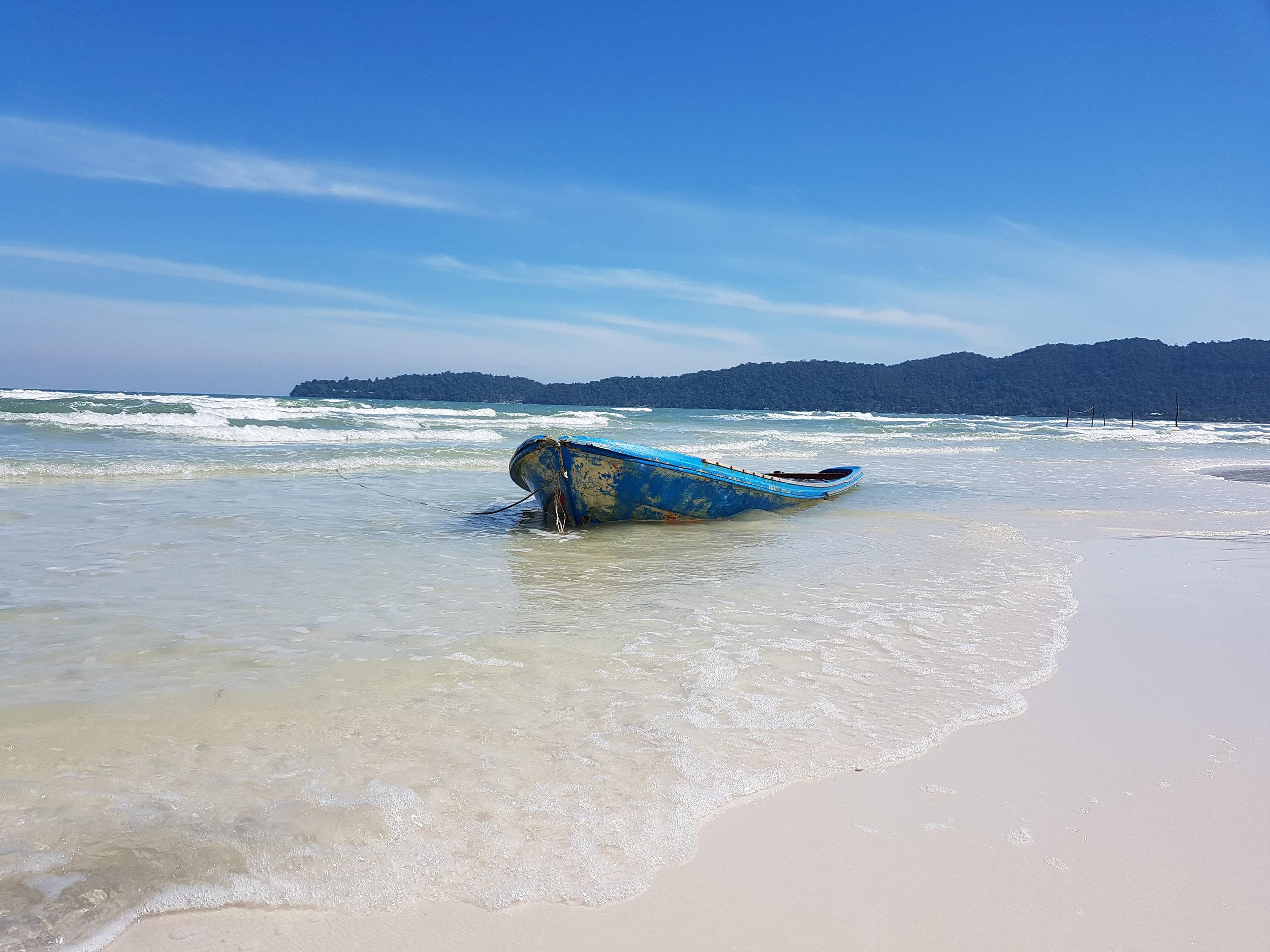 Tranquil beaches on Koh Rong Samloem