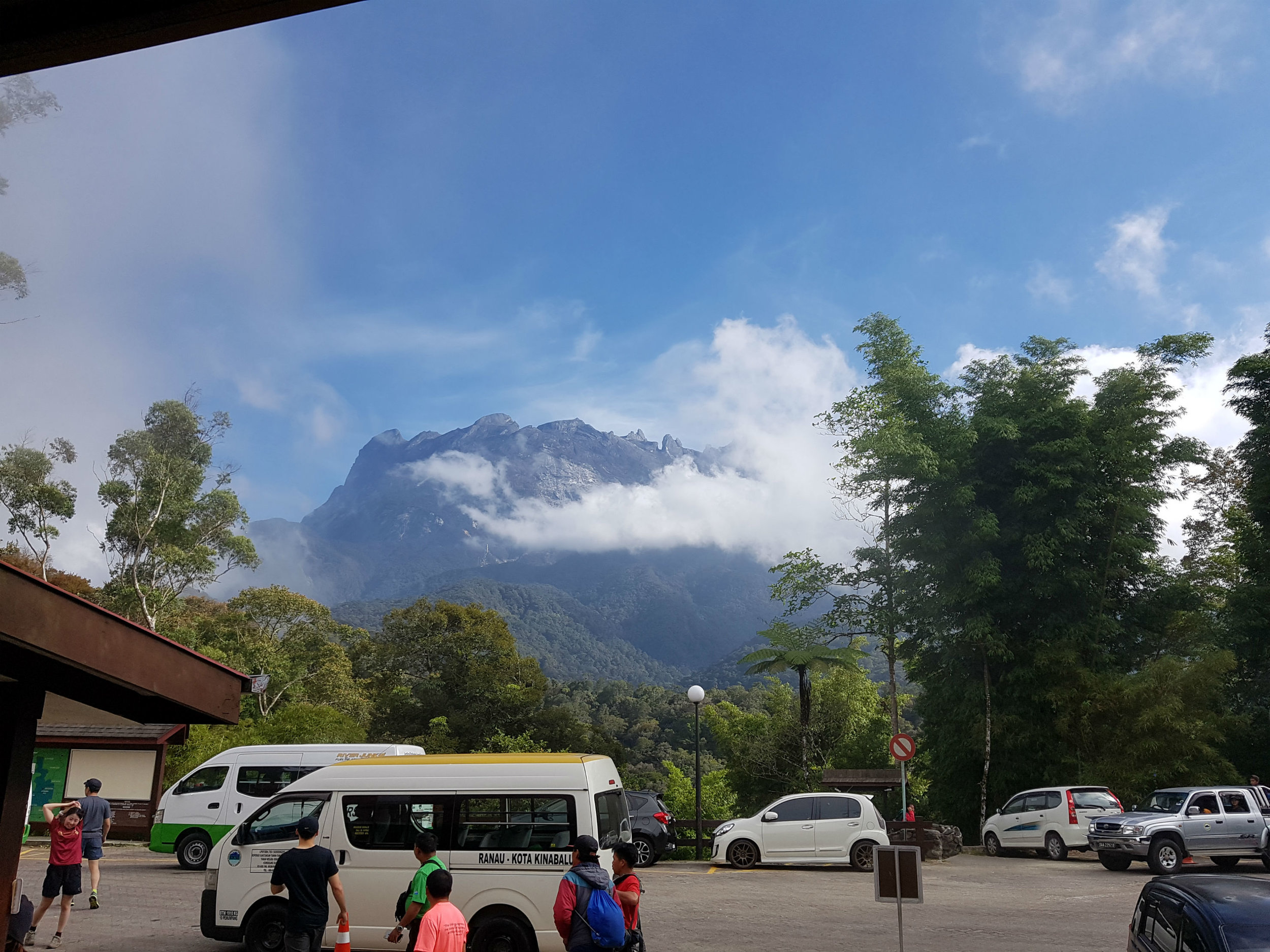 Mount Kinabalu Park Head Quarters at 1850 mtr.