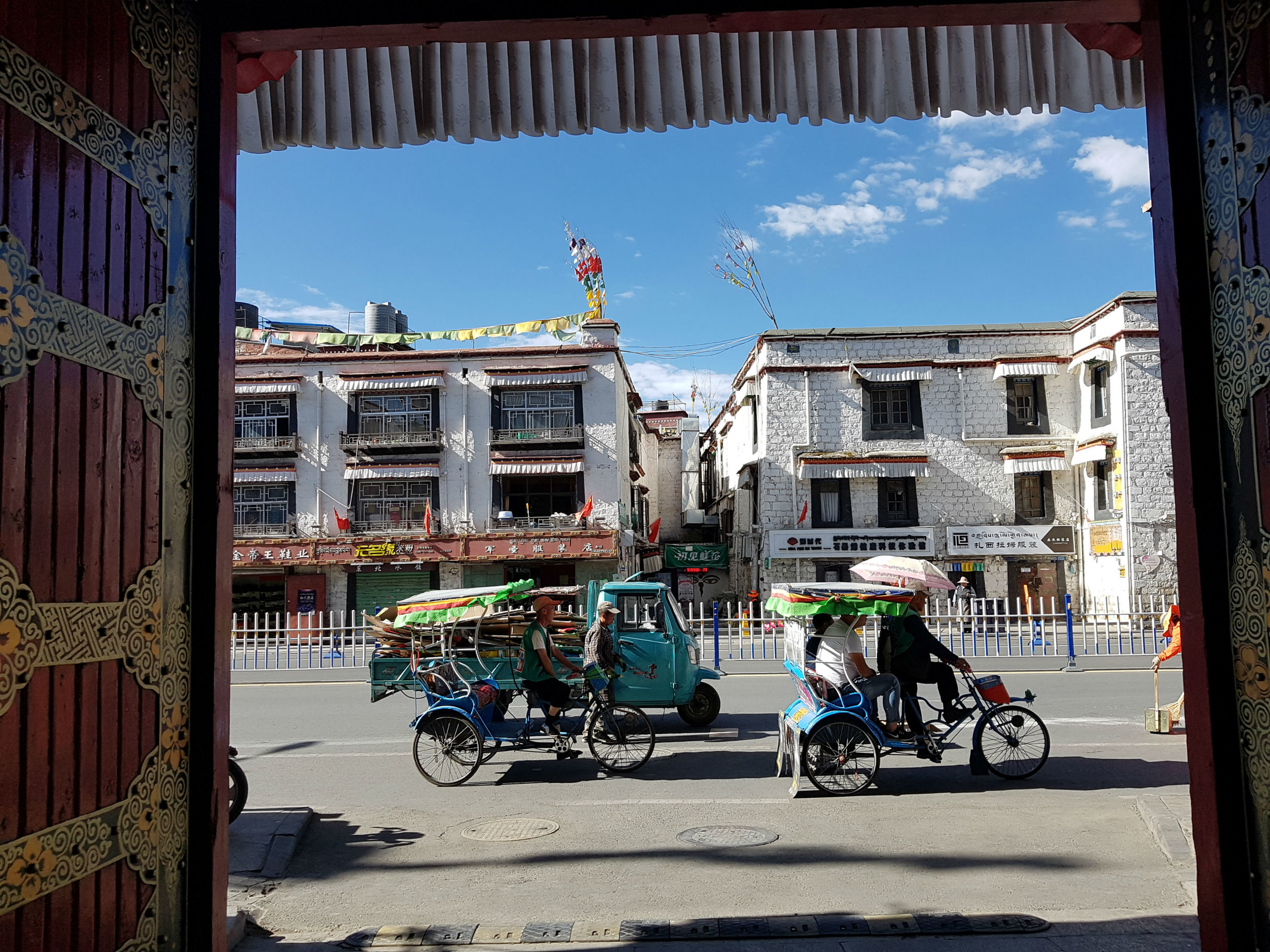 Old Town in Lhasa