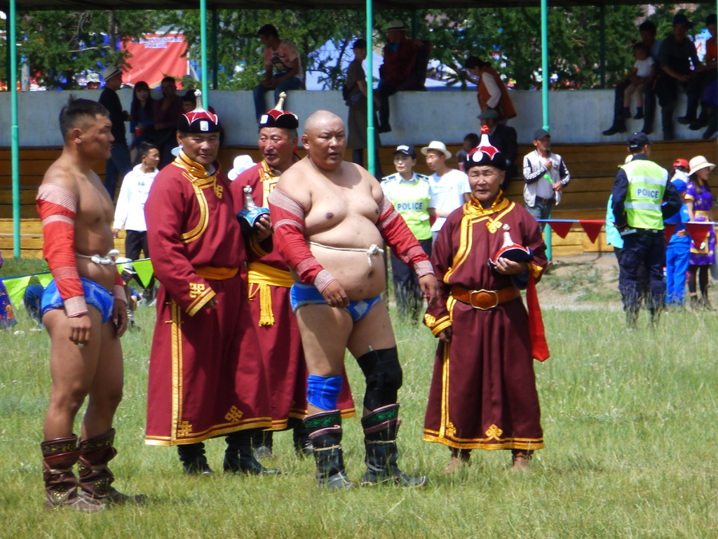 Wrestling is the main sport in Mongolia