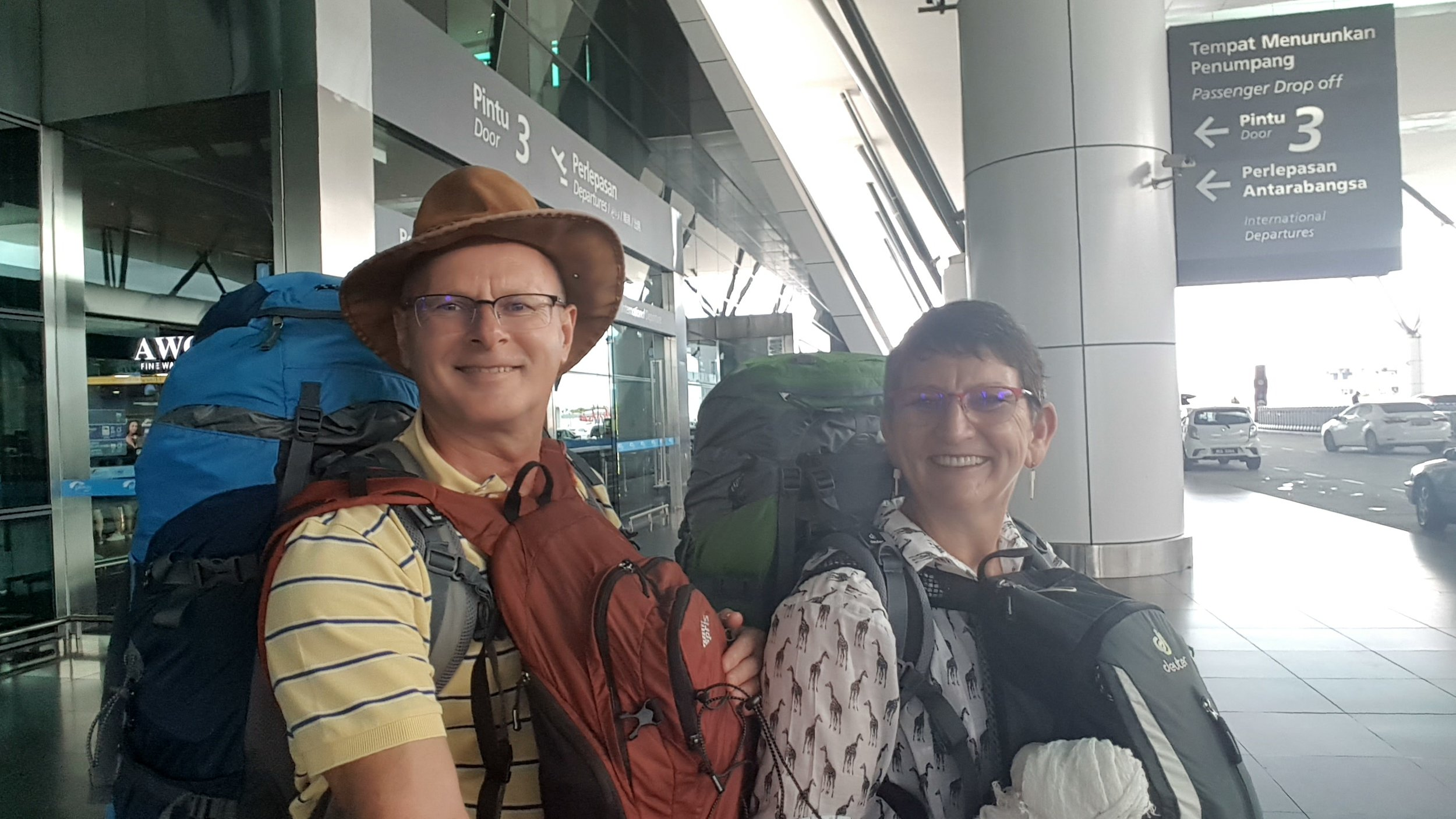 Starting our travel to China