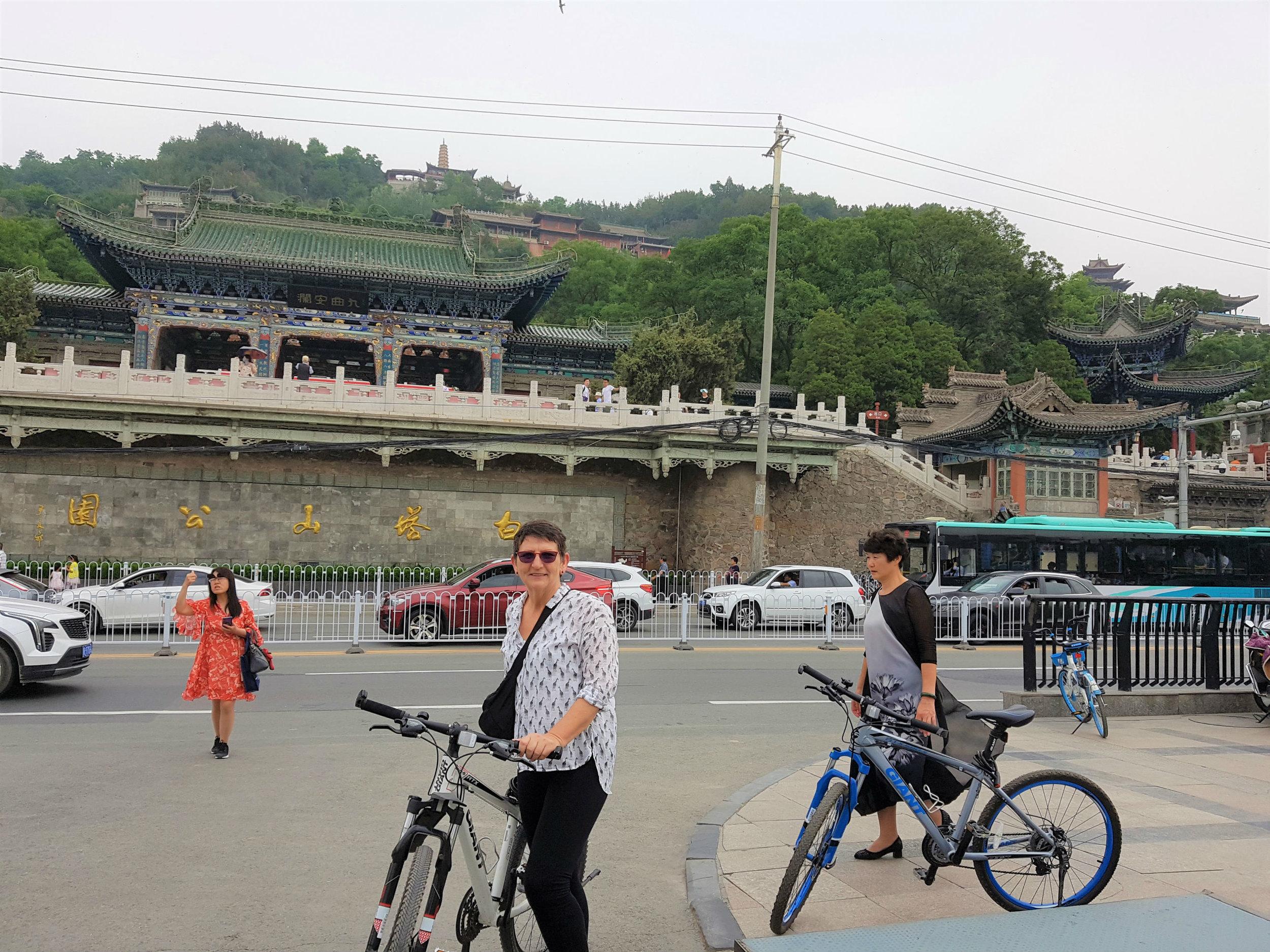 Lanzhou is a biking friendly city